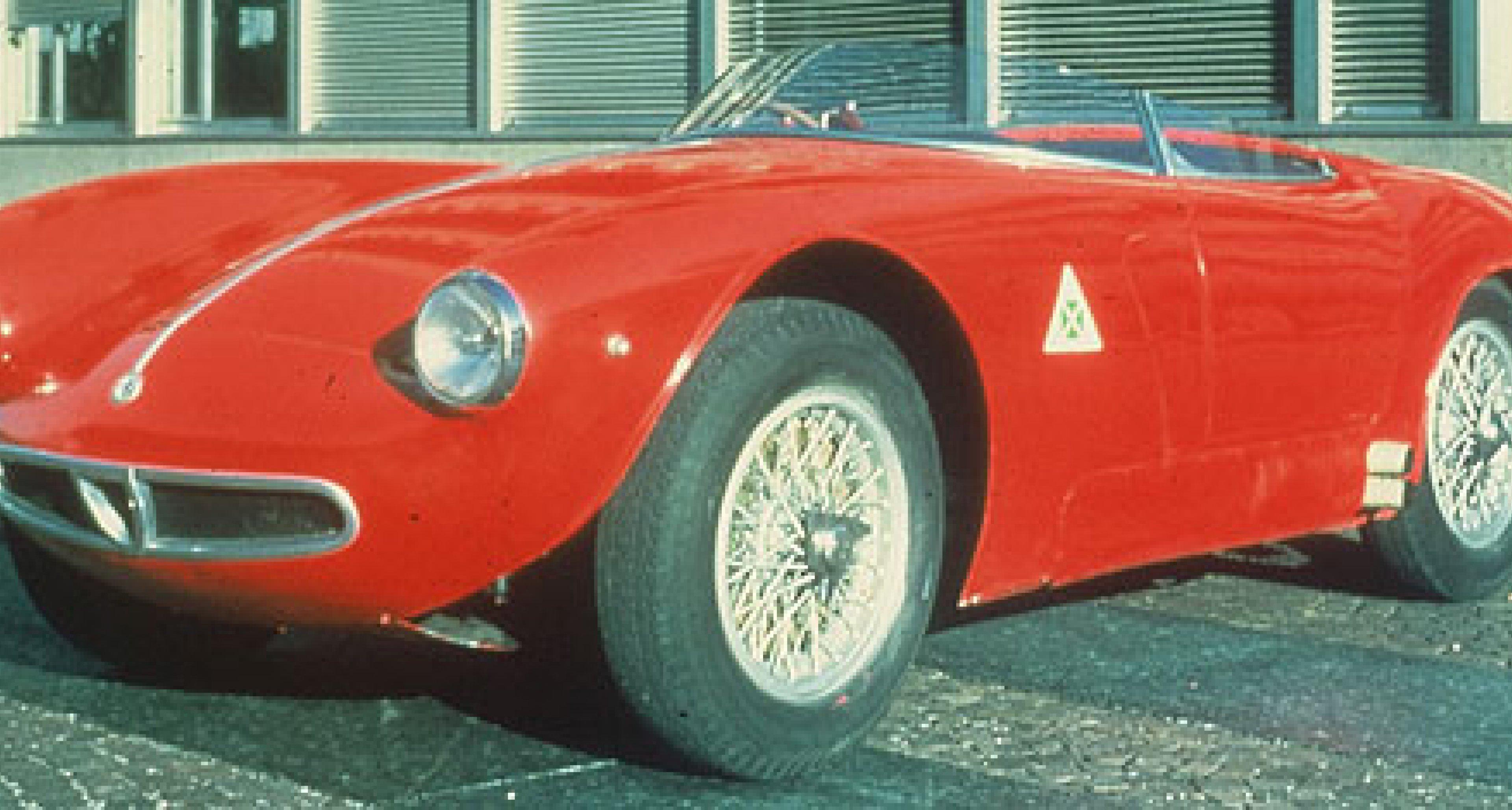 Alfa Romeo Squadra Storica  beim RAID 2004