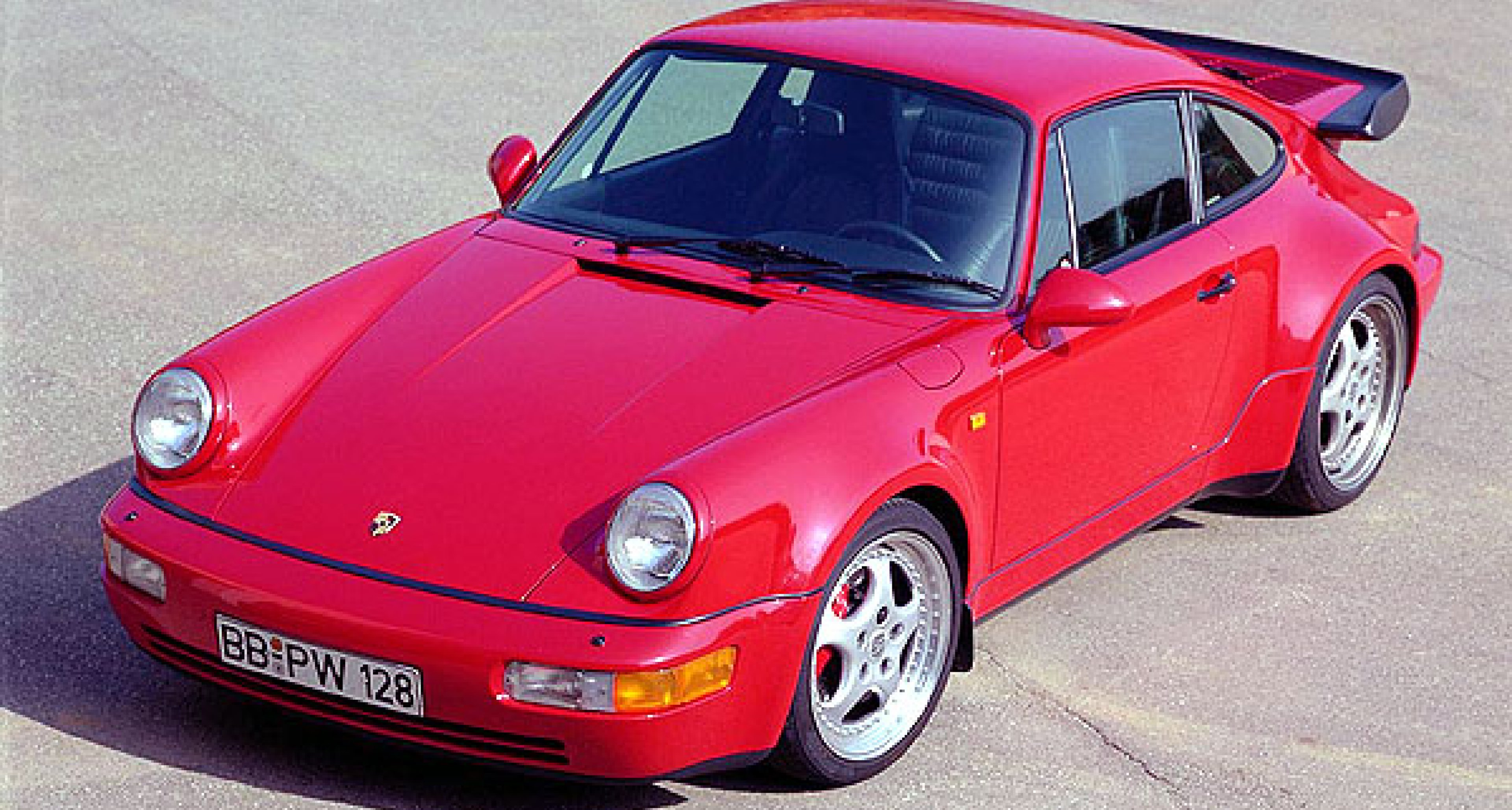 Thirty years of the Porsche 911 Turbo