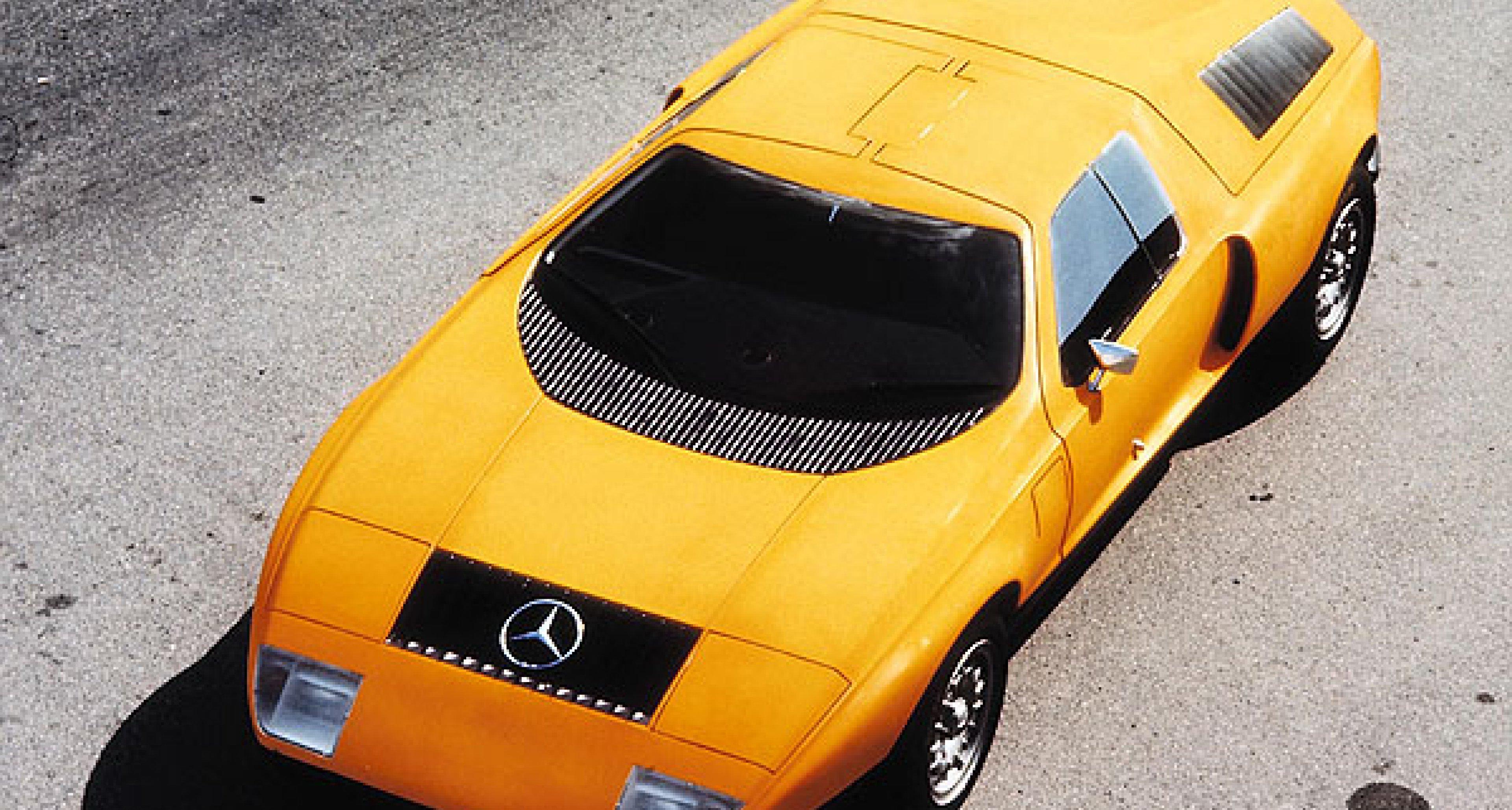 Mercedes-Benz C 111: Weißherbst
