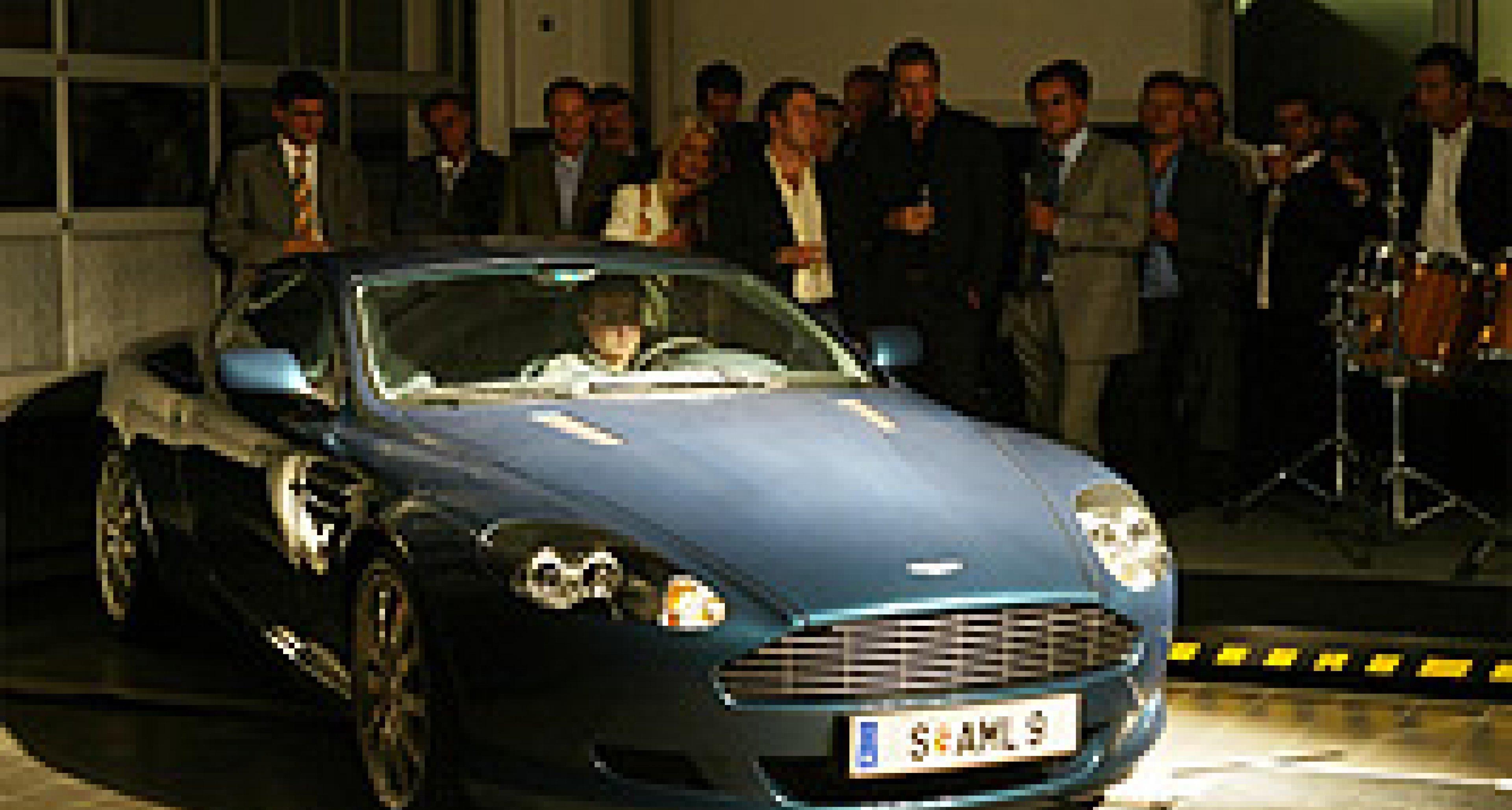 Aston Martin Salzburg: Große Eröffnungsfeier