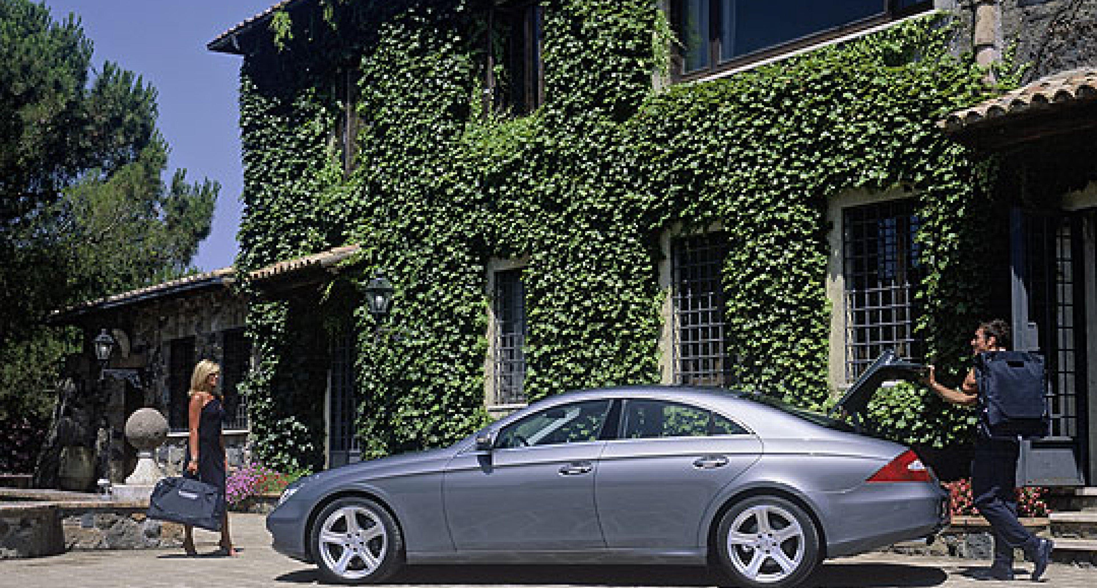 Mercedes-Benz CLS Bagage: Stilvoll reisen