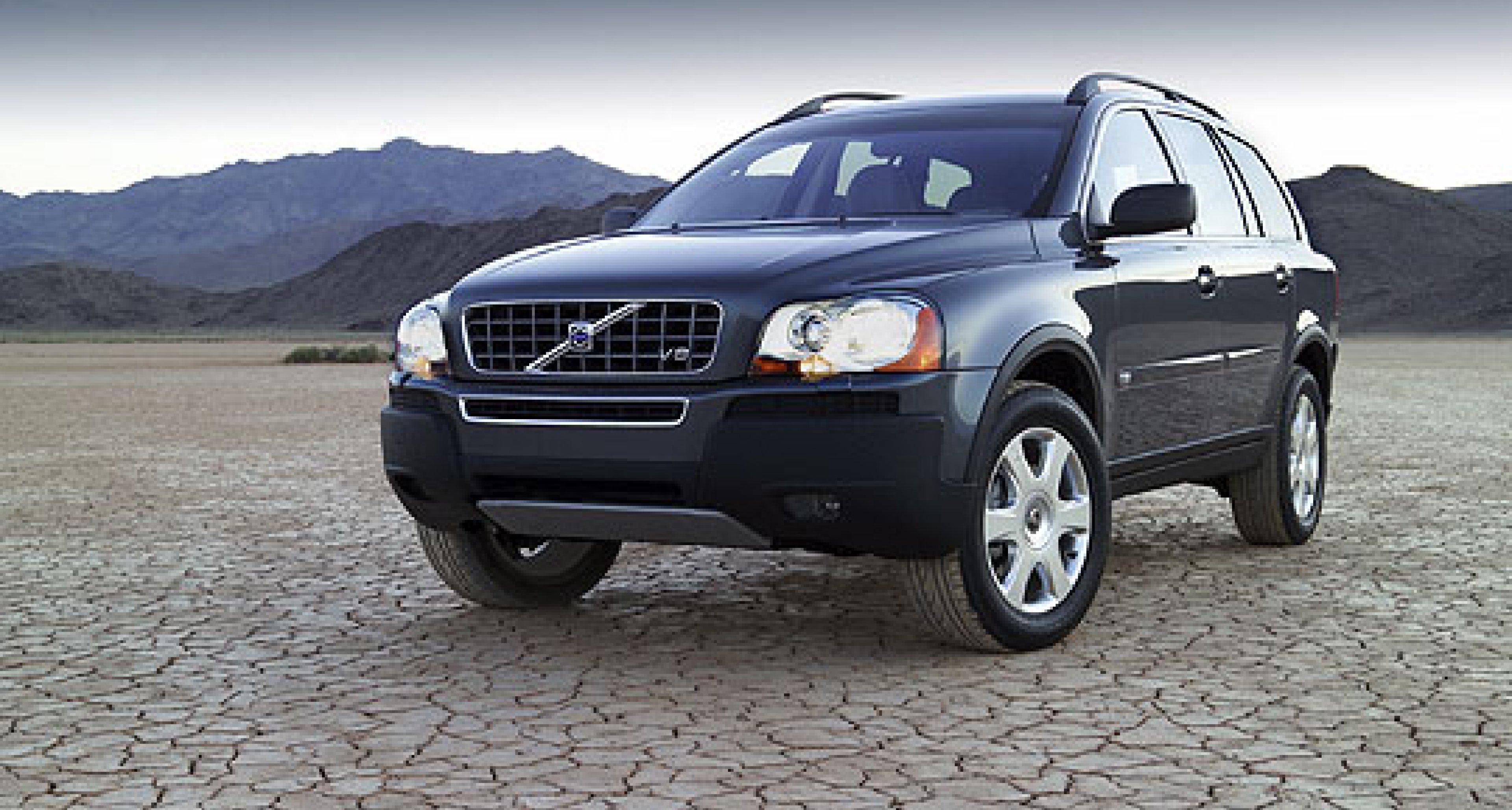 Volvo XC90 V8: Erster Achtzylinder