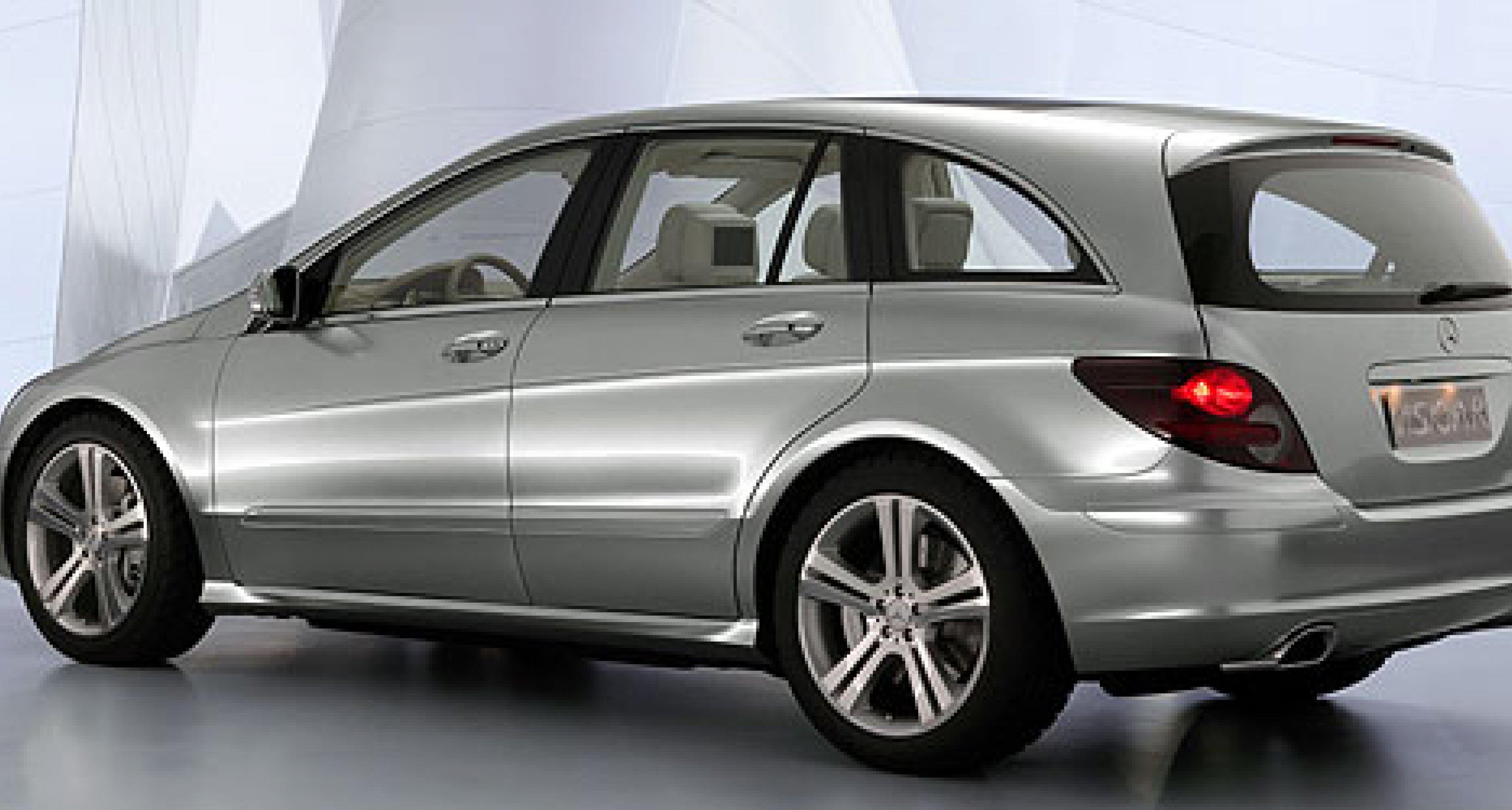 Mercedes-Benz Sports Tourer Vision R und Vision B: Reisen in der Zukunft