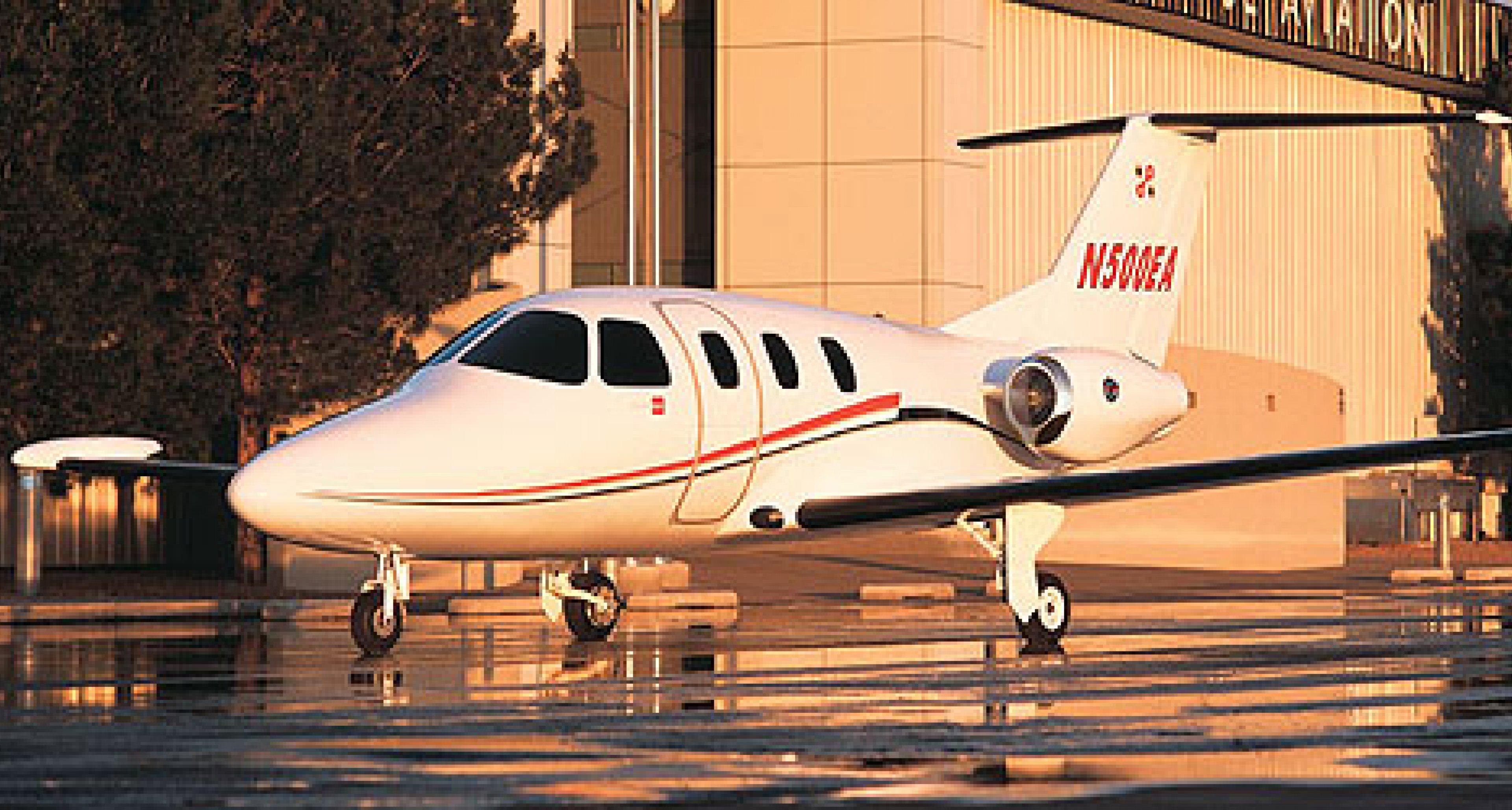 Eclipse 500 Businessjet: Kleiner Jet ganz groß