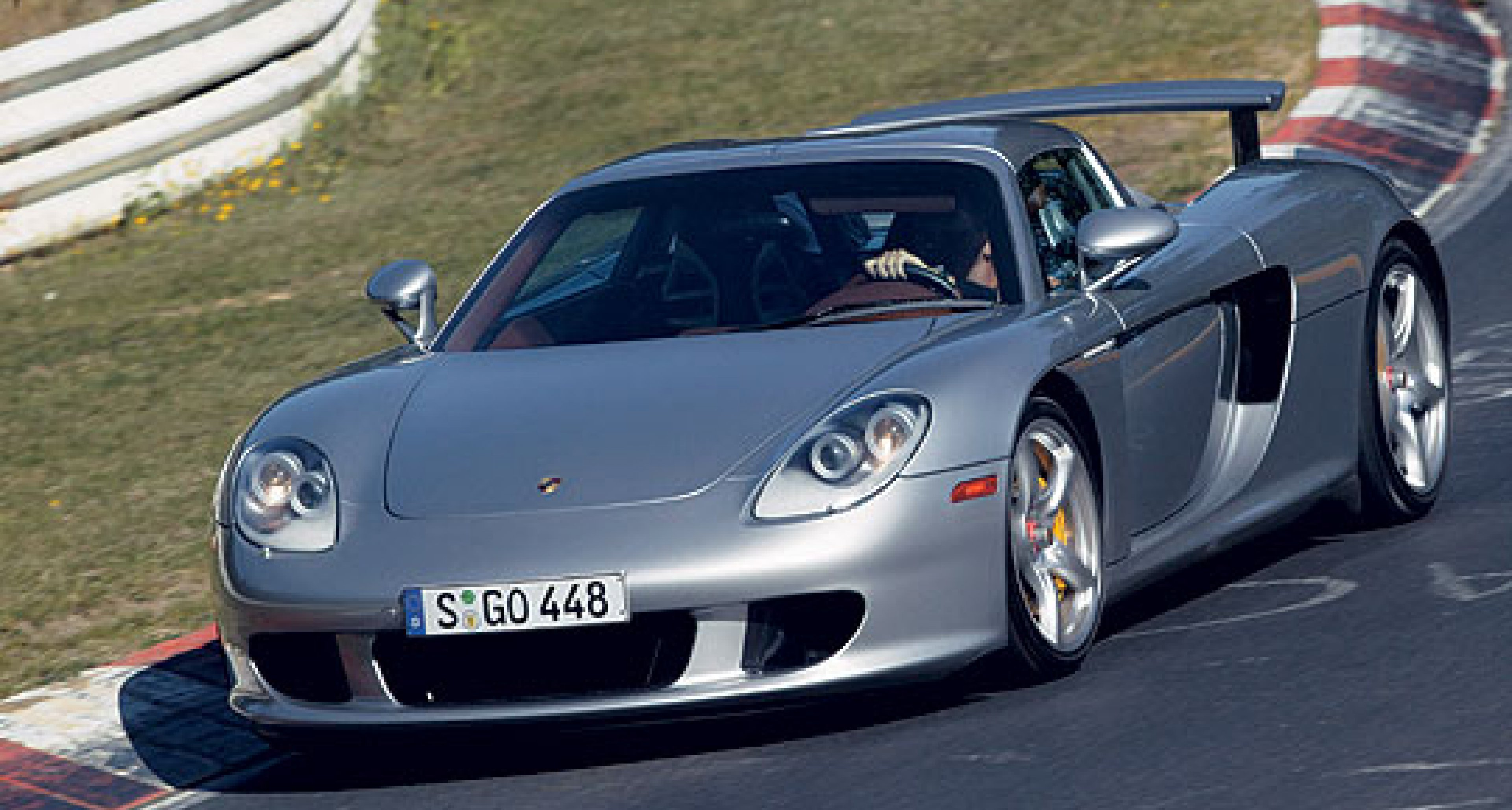 The Carrera GT is the fastest car at the Nürburgring