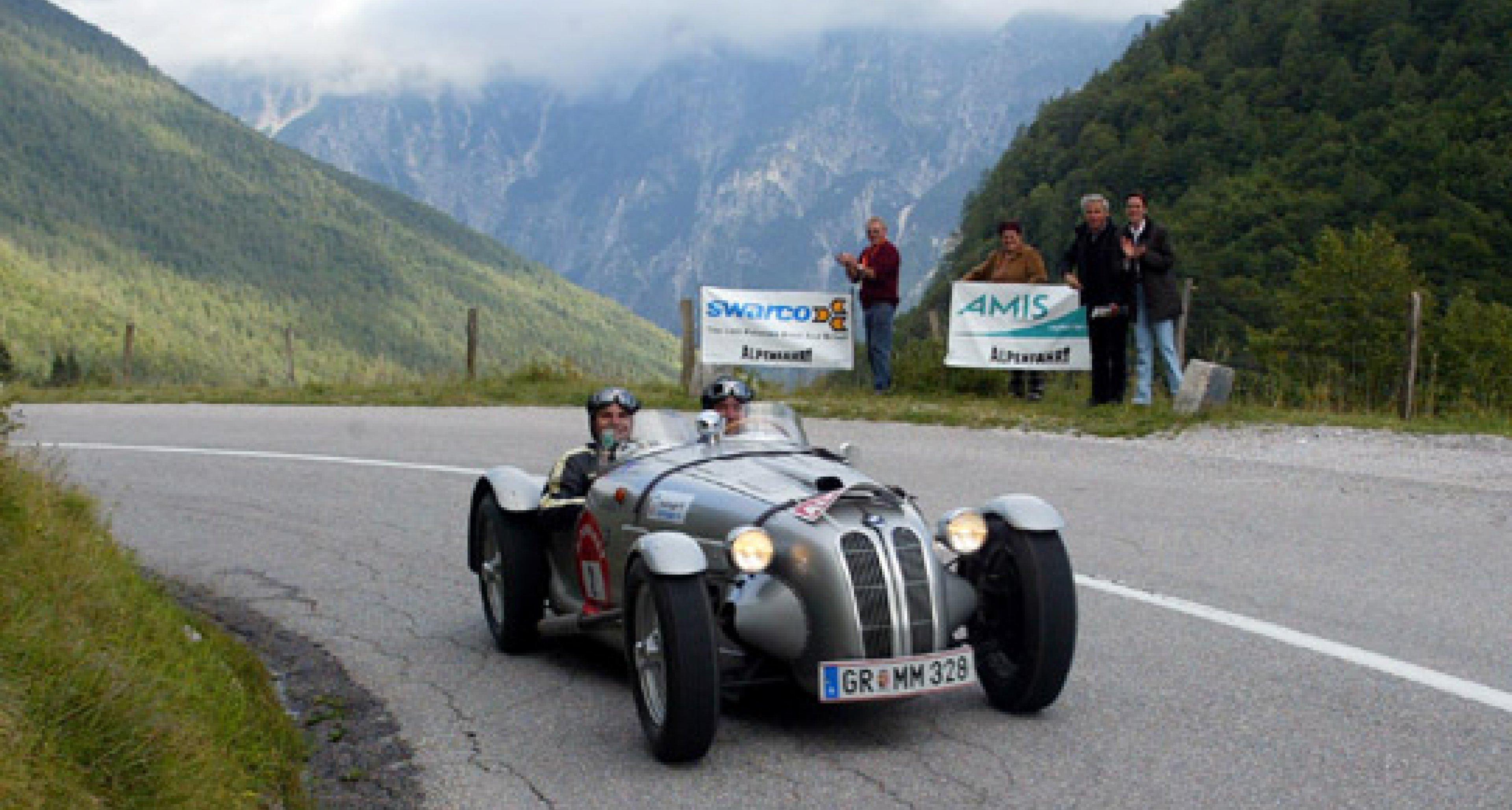 Alpenfahrt 2004 - The winner takes it all...