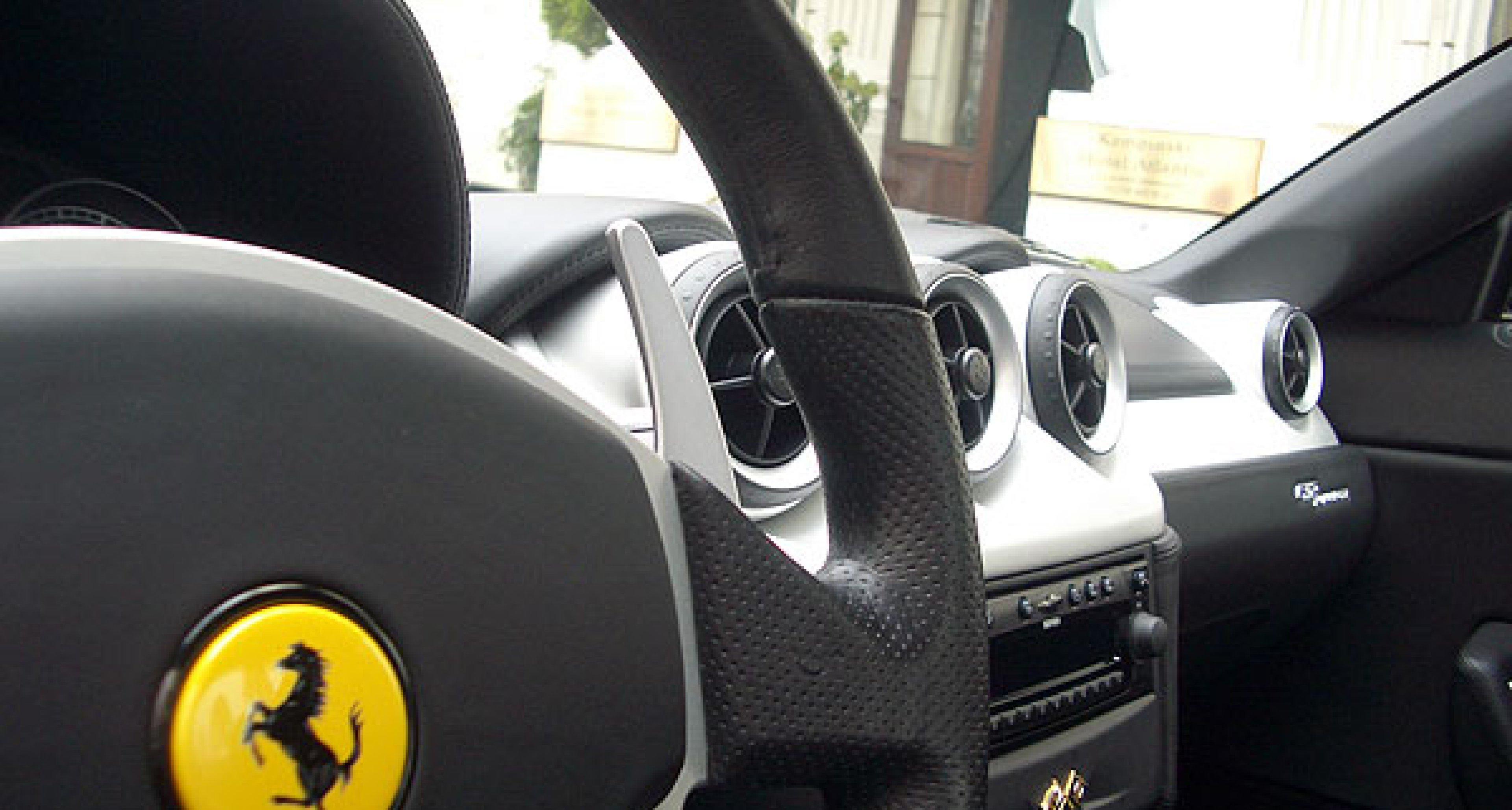 Ferrari 612 Scaglietti.  A driving report.