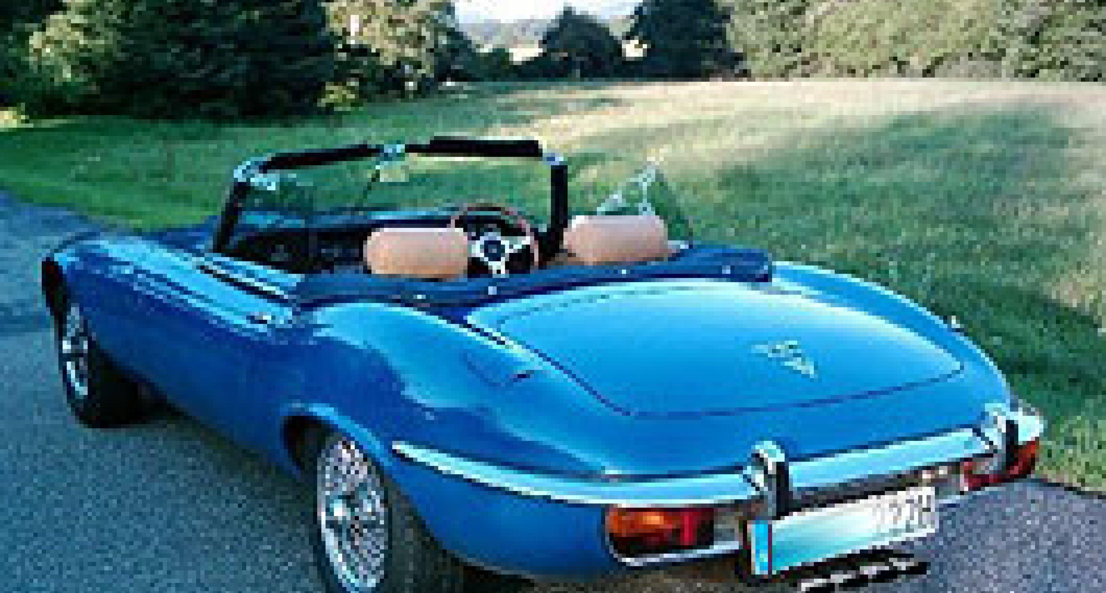 Wir zeigen's Ihnen: Jaguar E-Type V12 Convertible