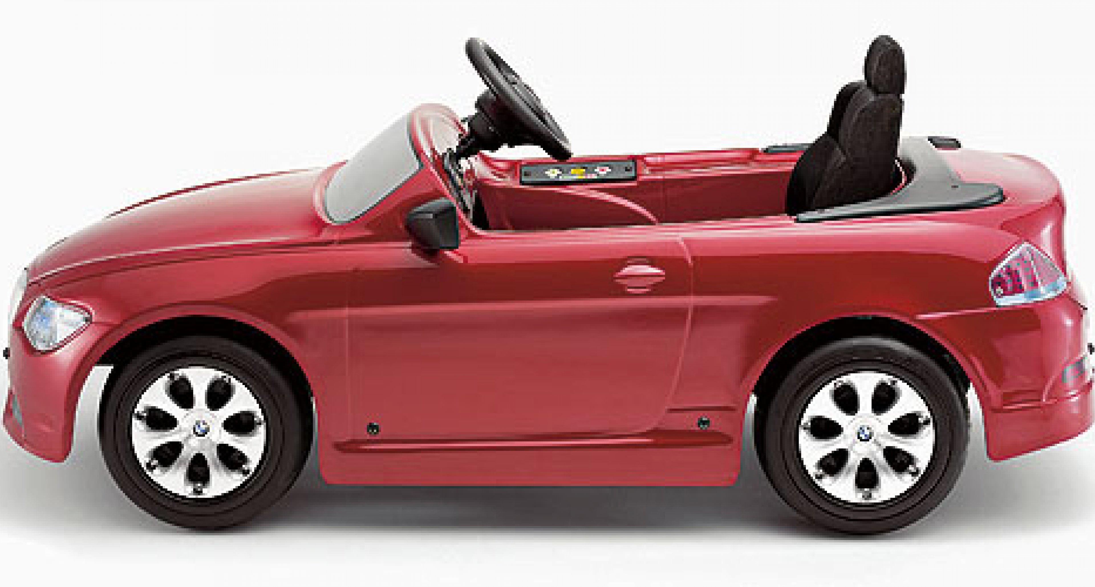 BMW 6er Cabrio für Kinder: Eltern aufgepasst!