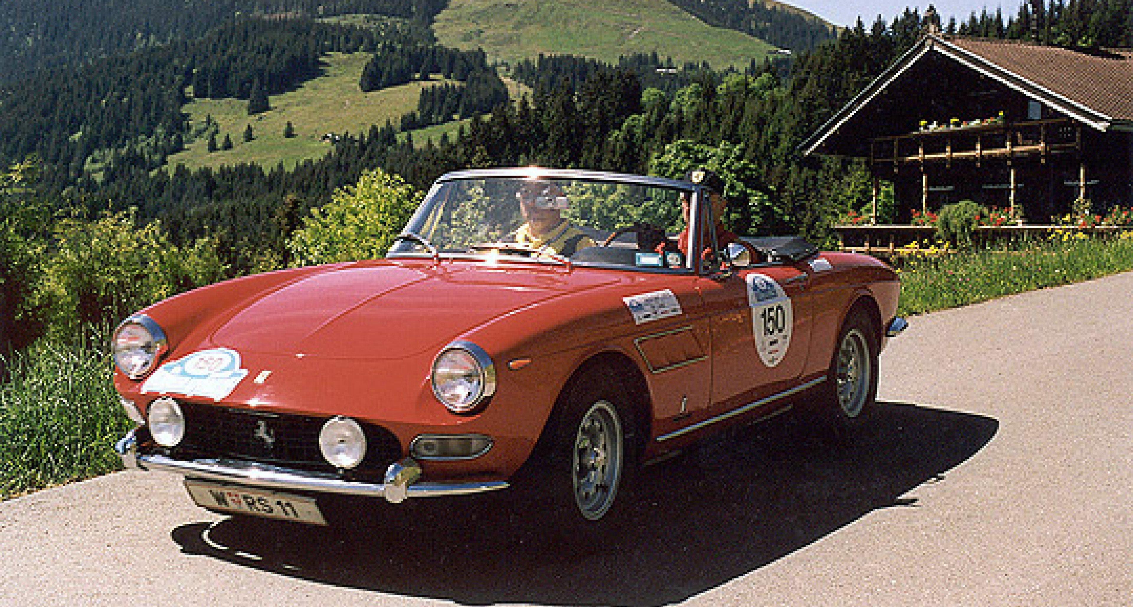 Ferrari Lusso, 275 GTS und Daytona (2)