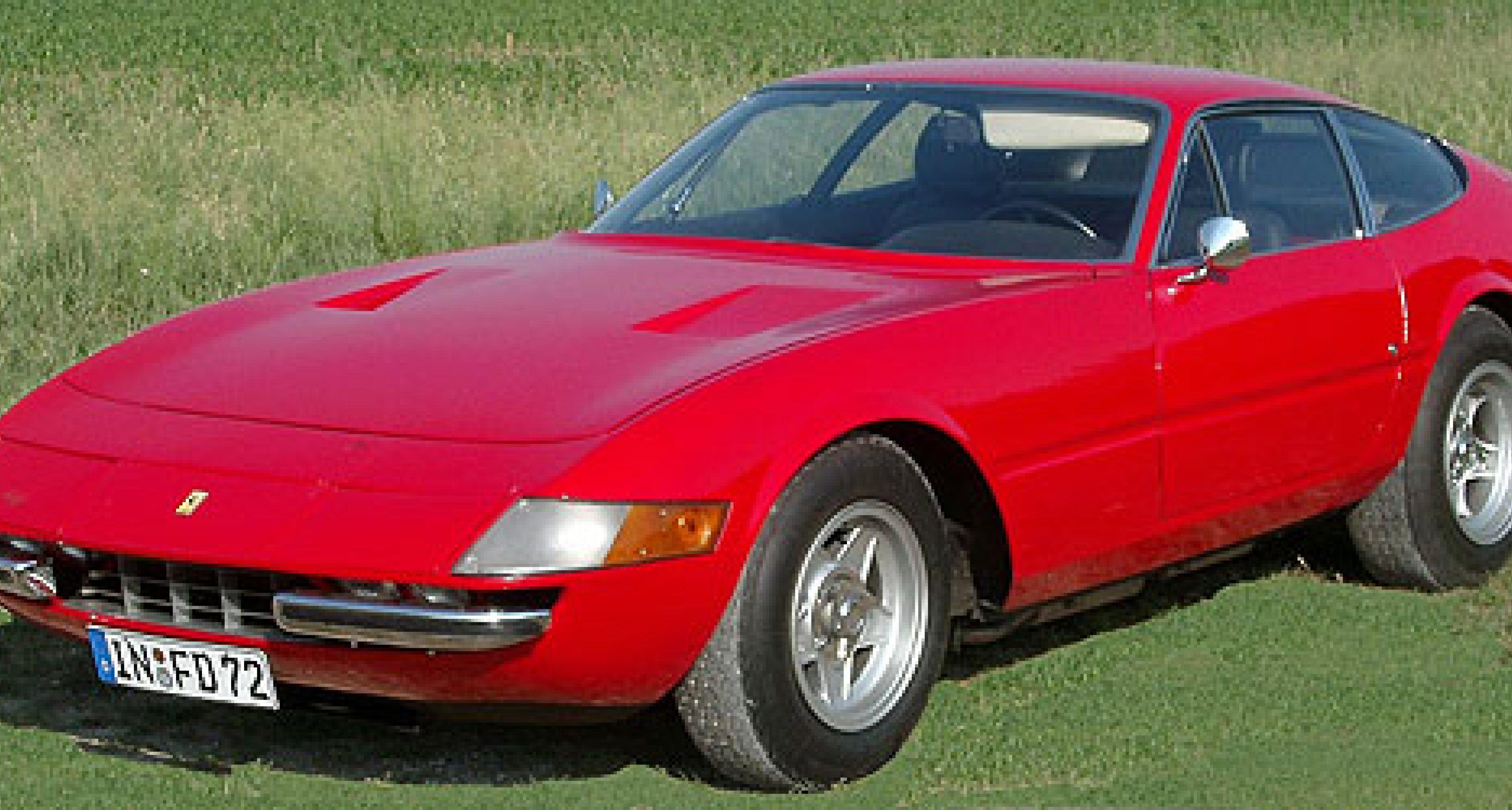 Ferrari Lusso, 275 GTS und Daytona (3)