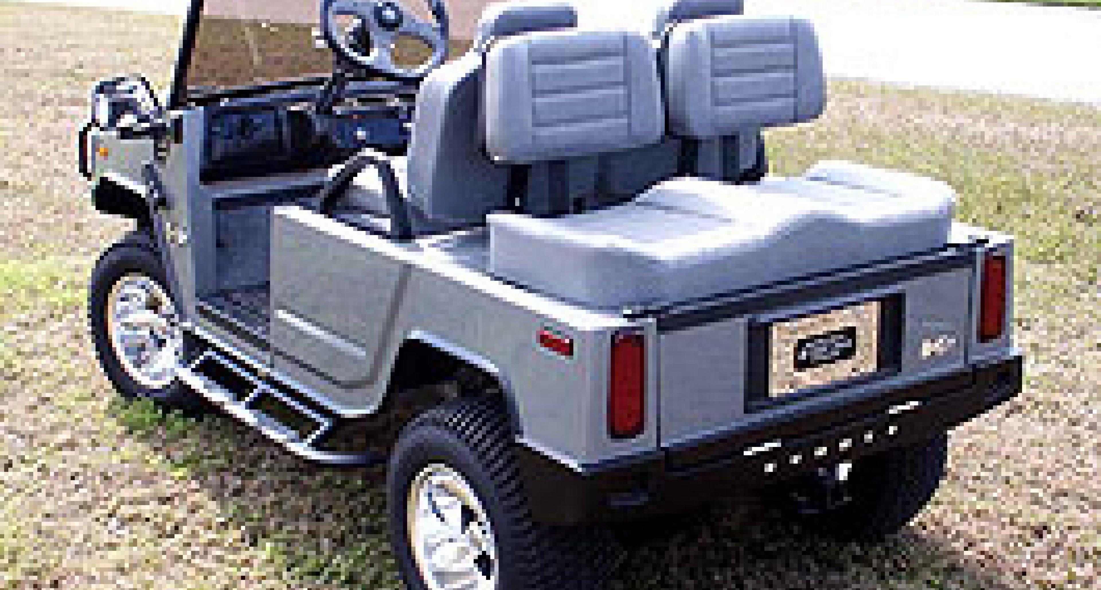 Crazy Golf Carts