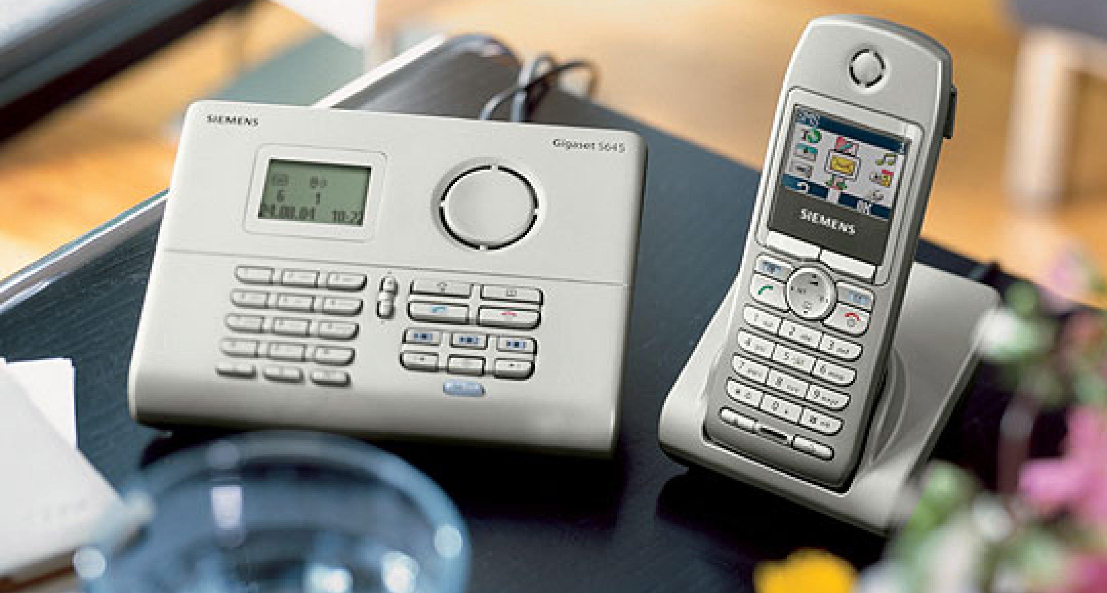 Siemens Gigaset: Voice-Over-IP bequem per Homehandy