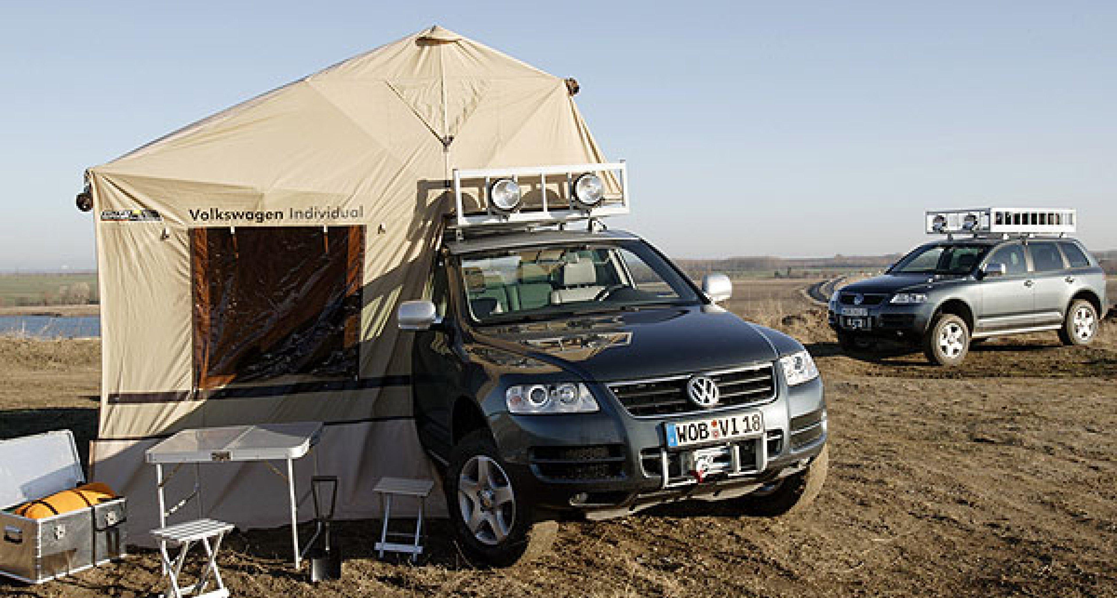 Volkswagen Touareg Expedition: Der Globetrotter