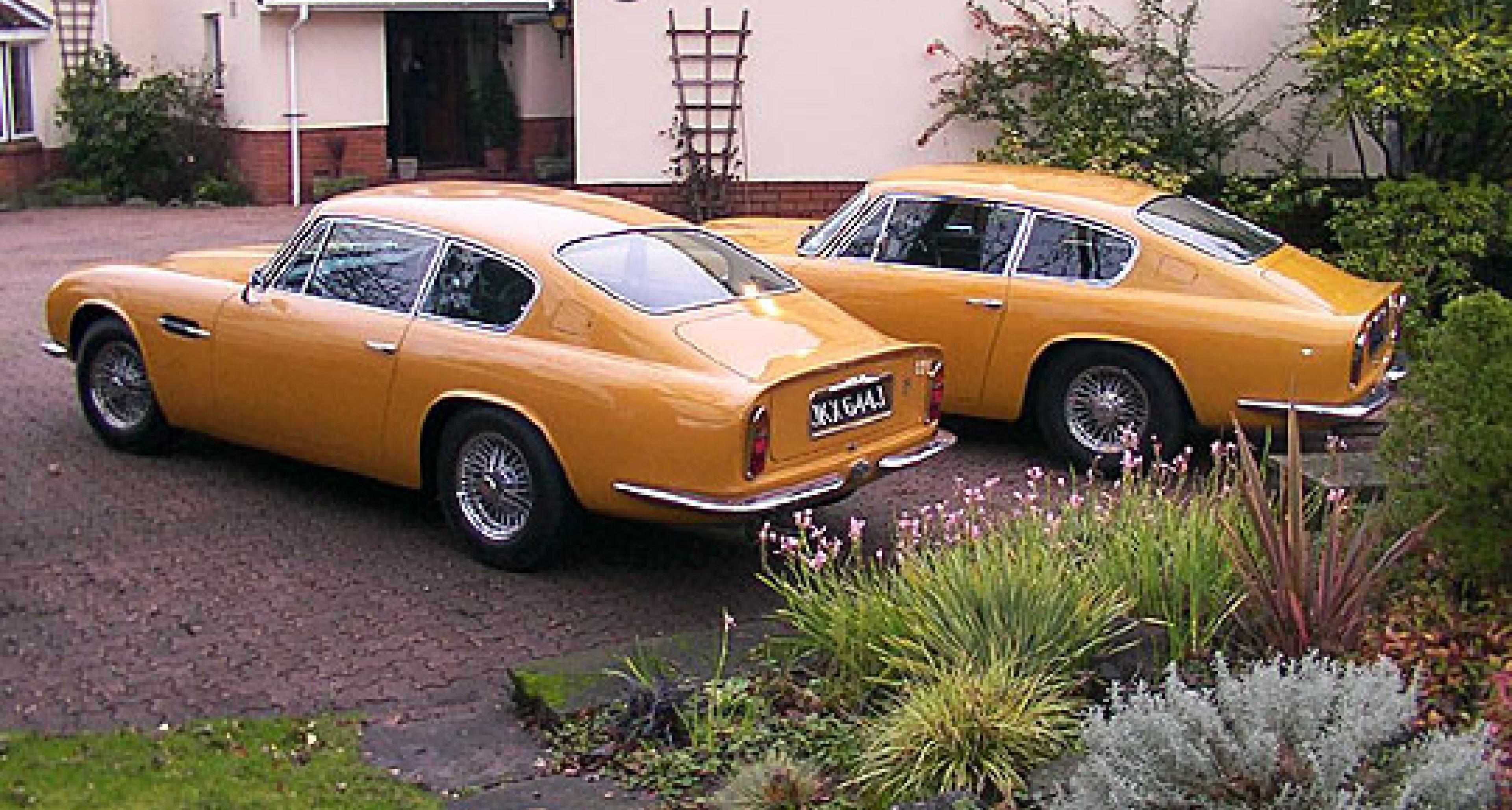 """Wir zeigen's Ihnen: Aston Martin DB6 MkII """"Bahama Yellow"""""""