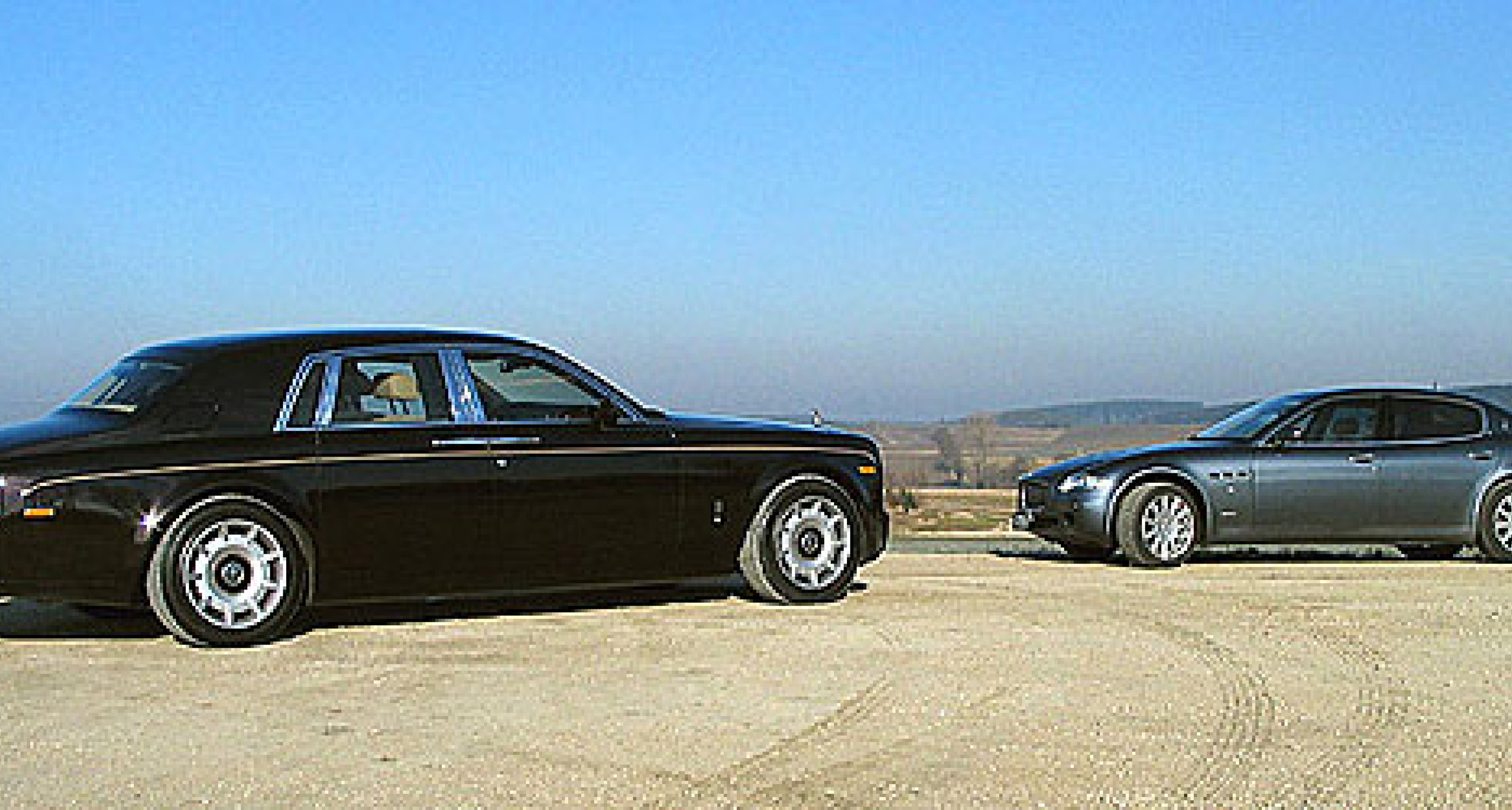Rolls-Royce Phantom & Maserati Quattroporte: Foto-Tour