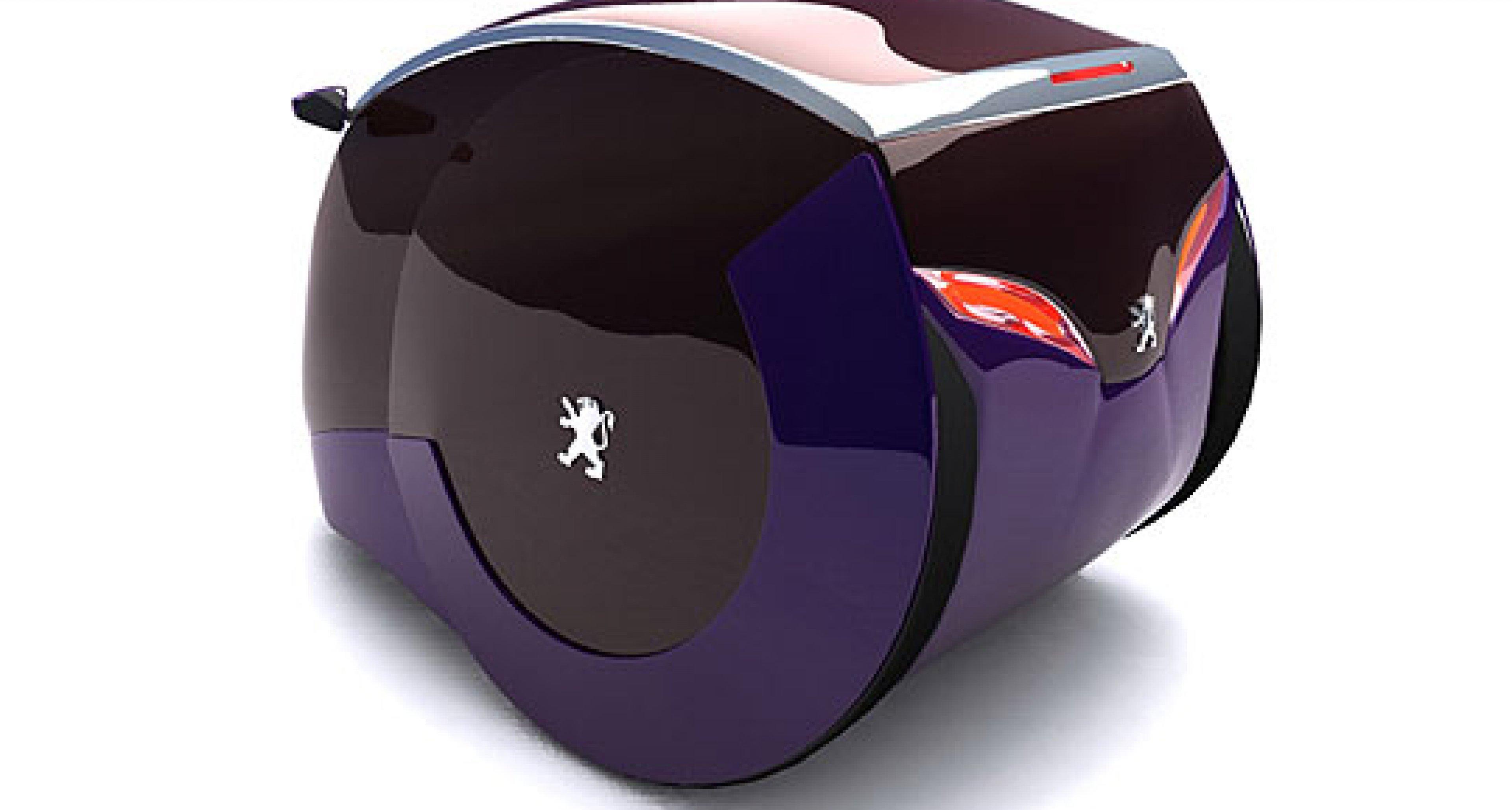 Peugeot: Rollendes Ei als Zukunftsdesign