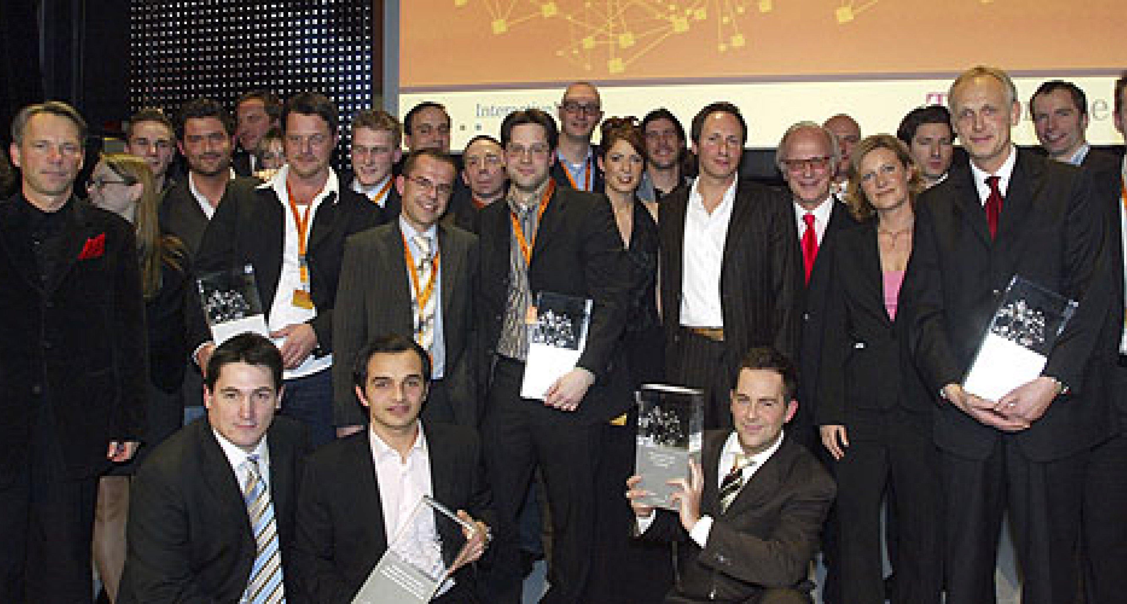 T-Online, InteractiveMedia und Horizont verleihen New Media Award 2005
