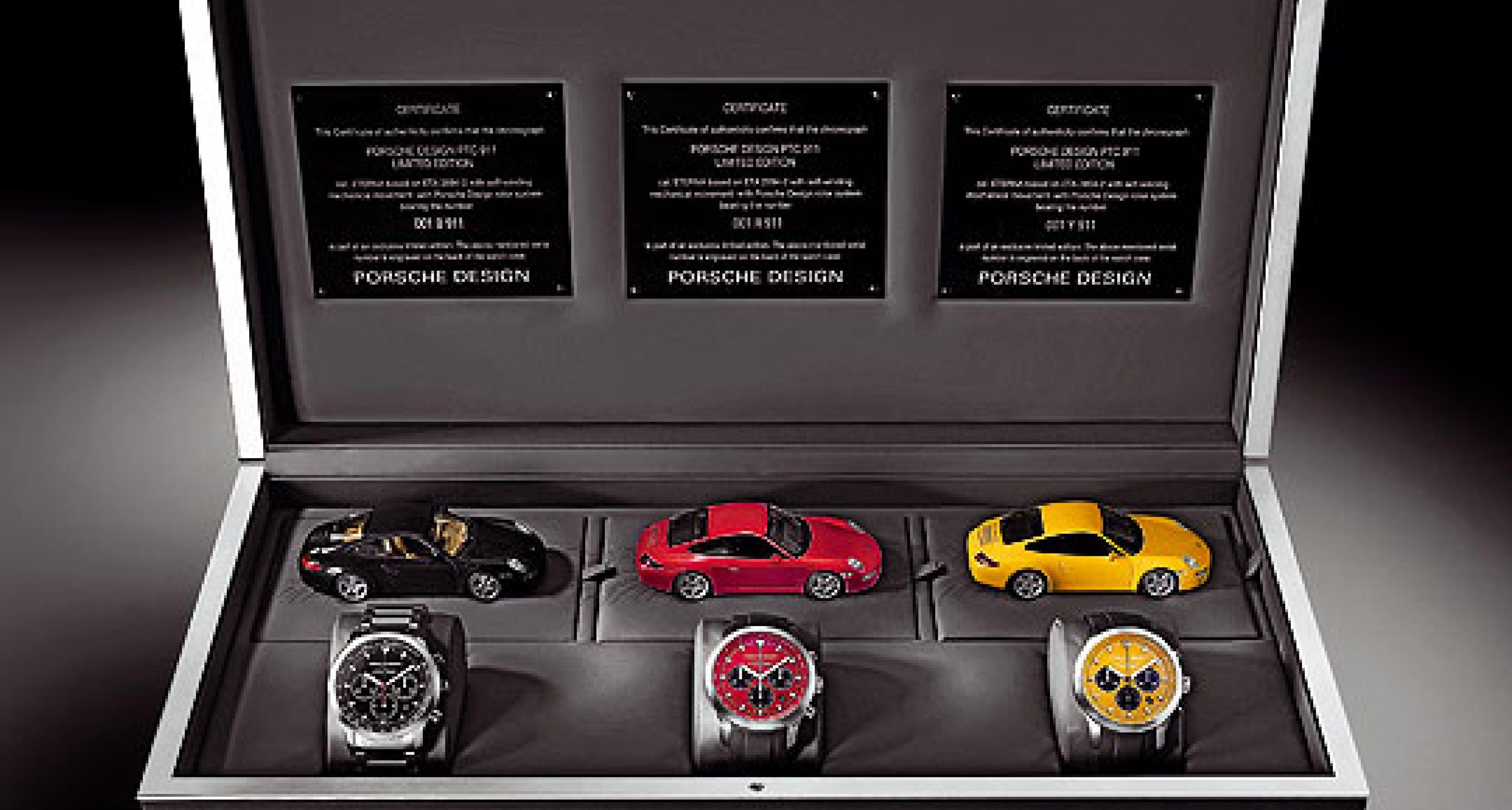Porsche Design PTC 911: Elfer-Armschmuck