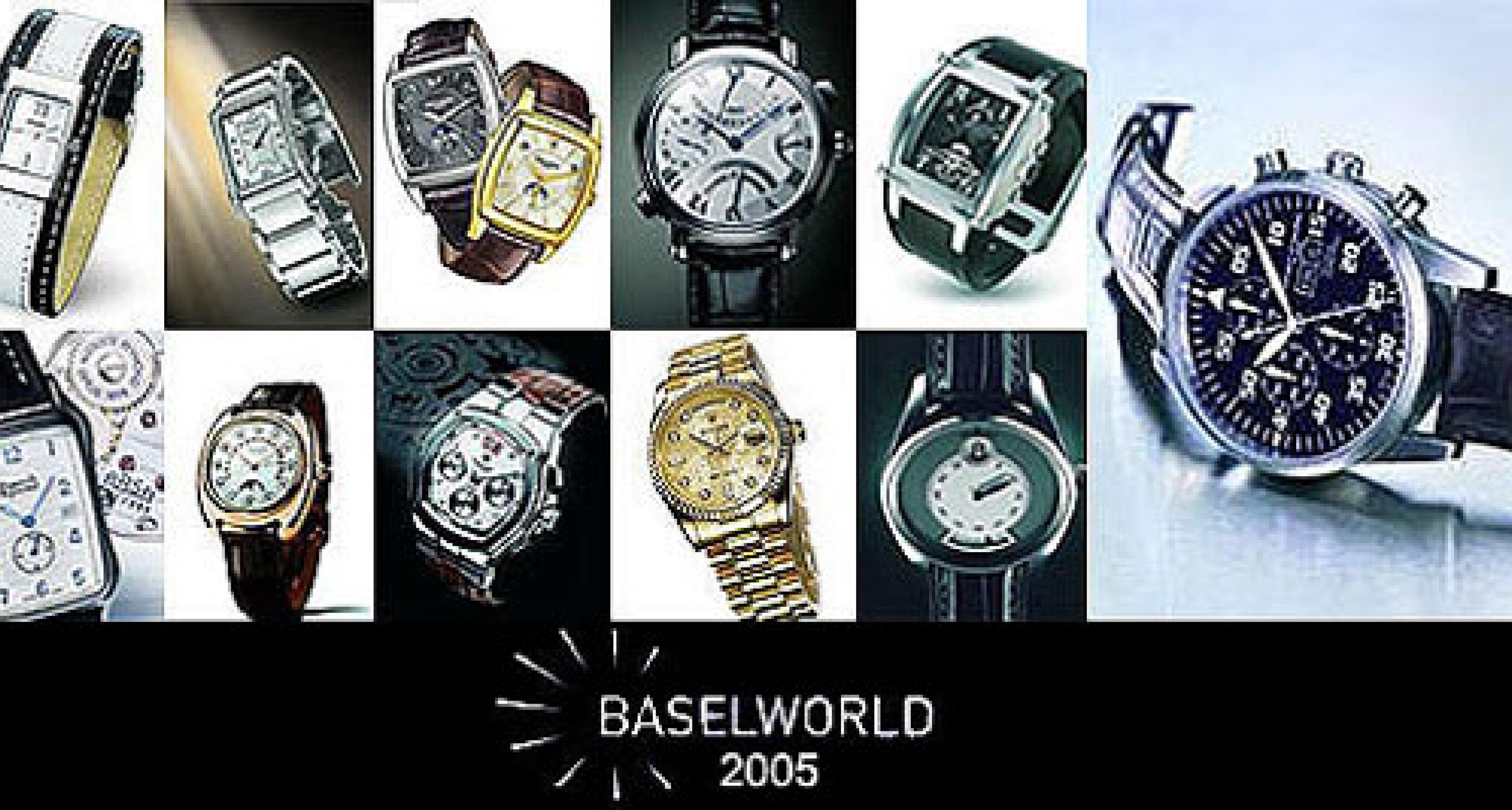Baselworld 2005: Uhrentrends werden enthüllt