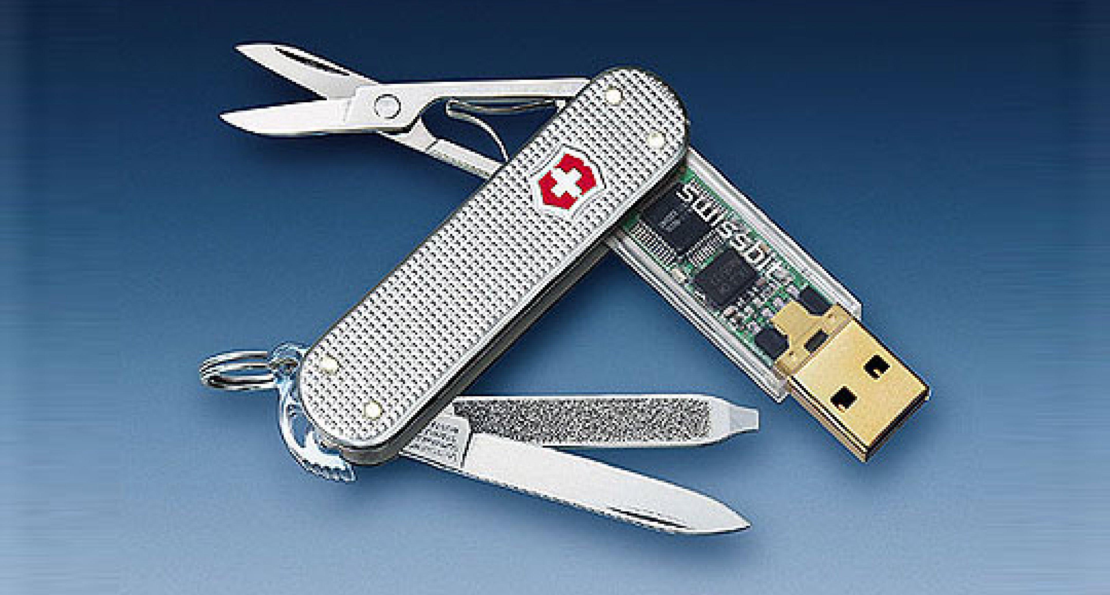 Victorinox USB Stick: Grüße von 007