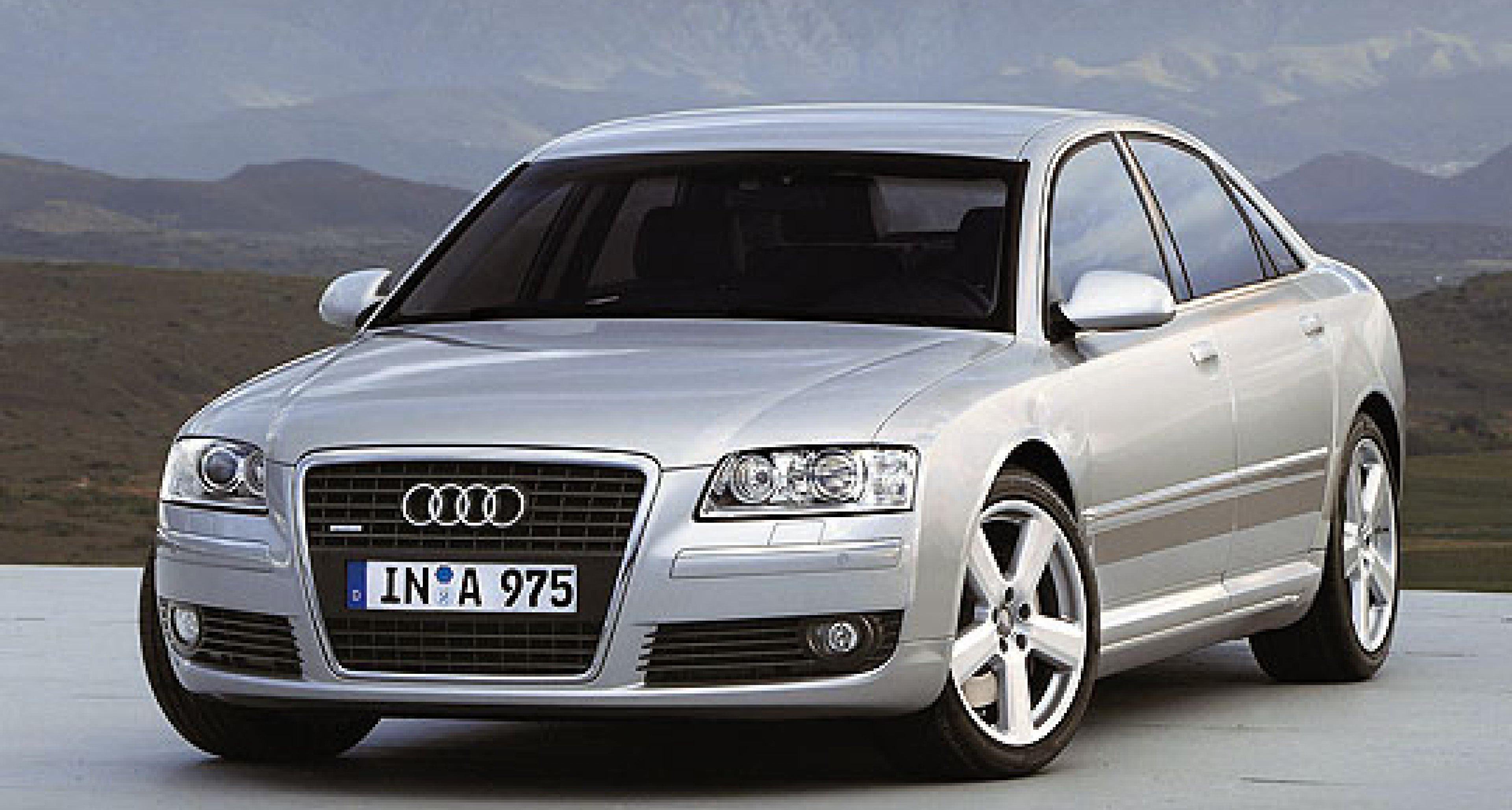 Audi A8 3.2 FSI: Kraftvoller Einstieg