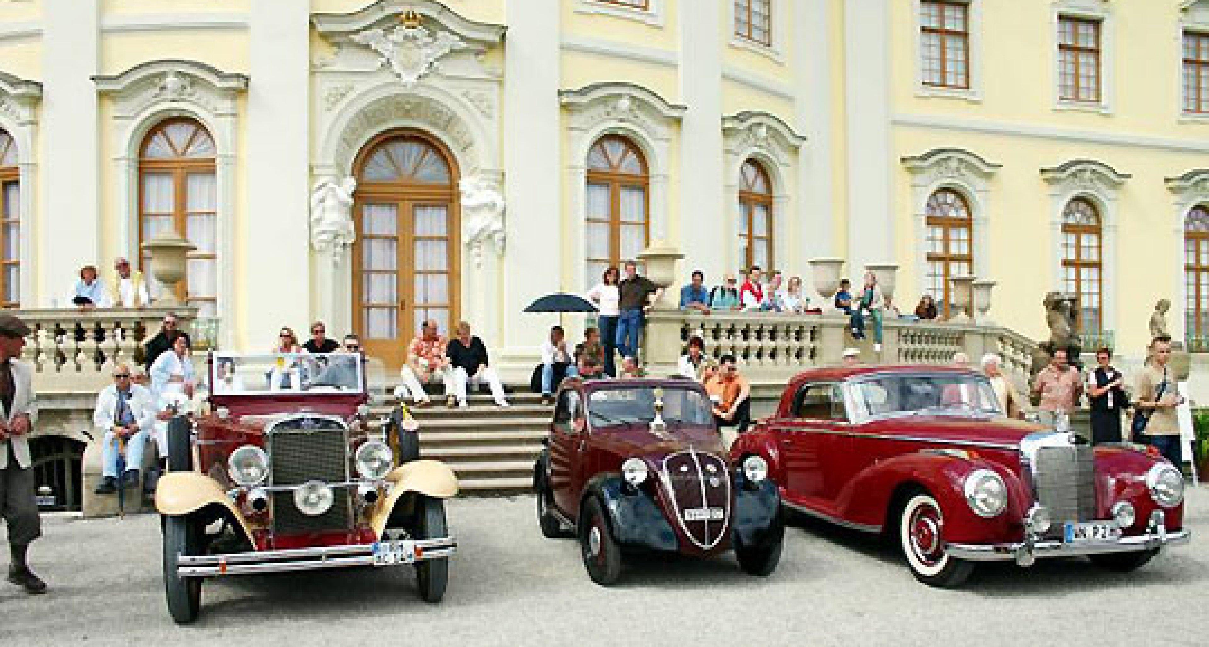 Bentley, Breitling und Galadinner - Retro Classics meets Barock 2005