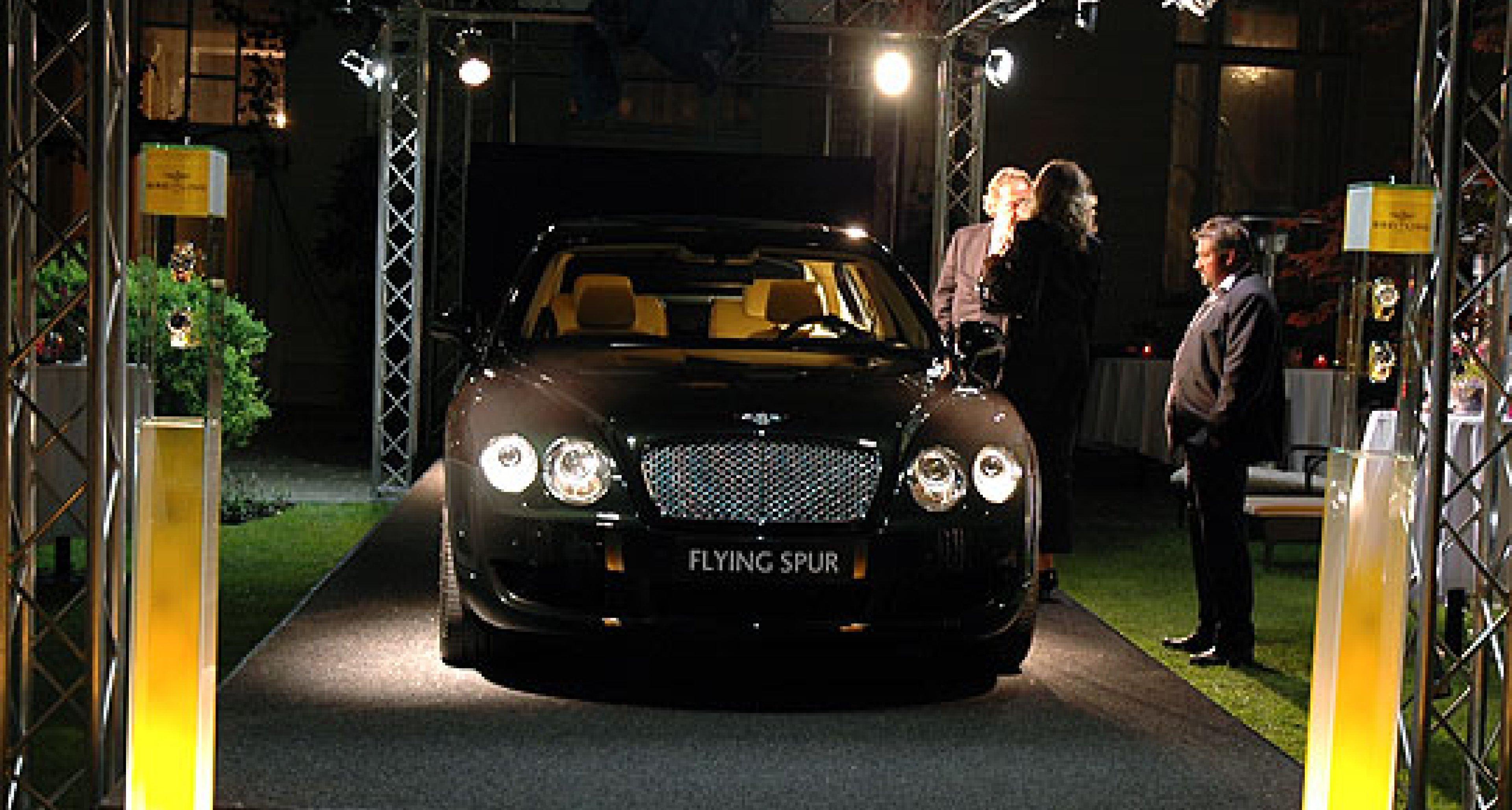Bentley Continental Flying Spur: Präsentation in Wien