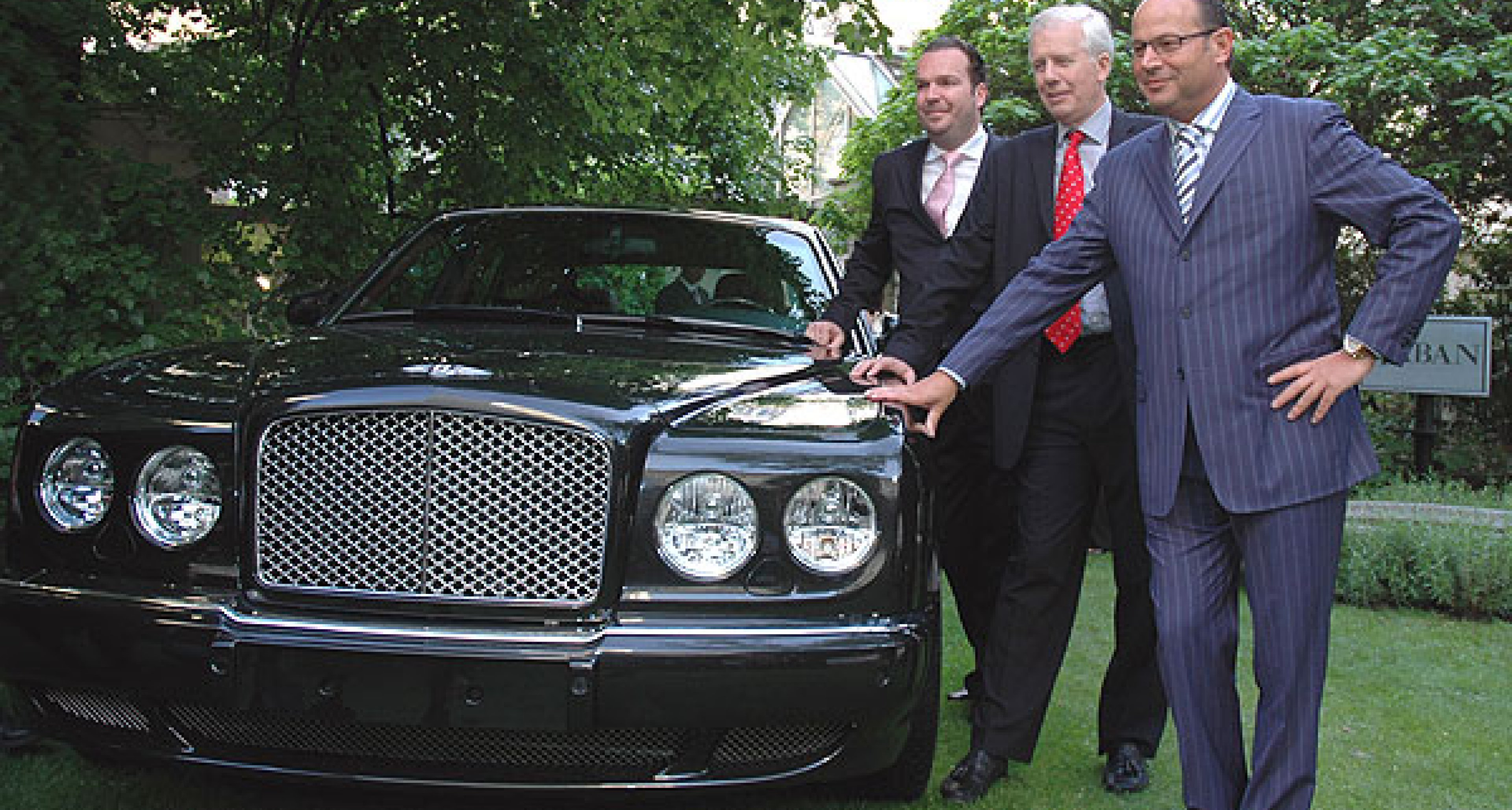 Bentley Continental Flying Spur: Präsentation in Wien