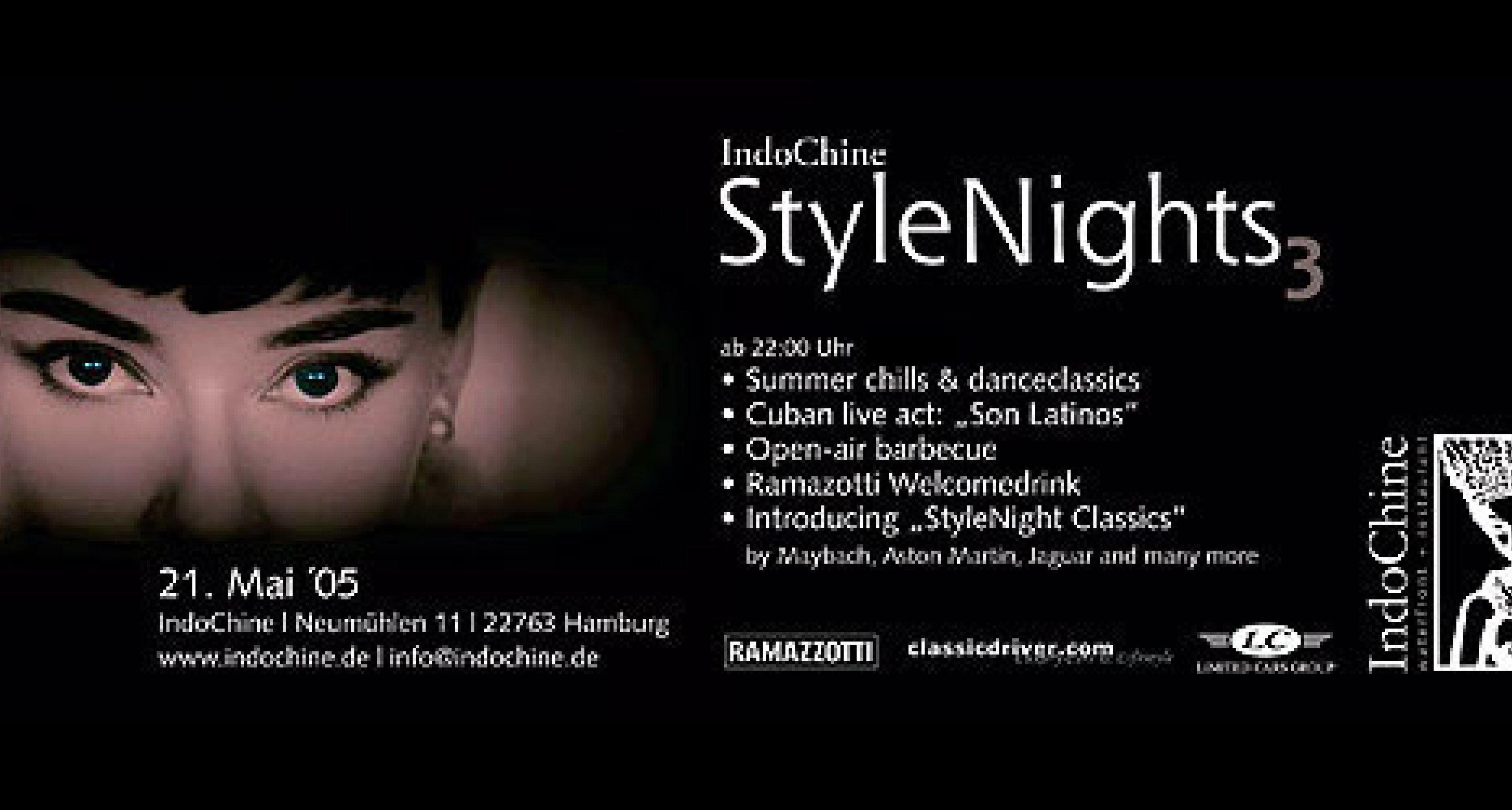 IndoChine Style Nights