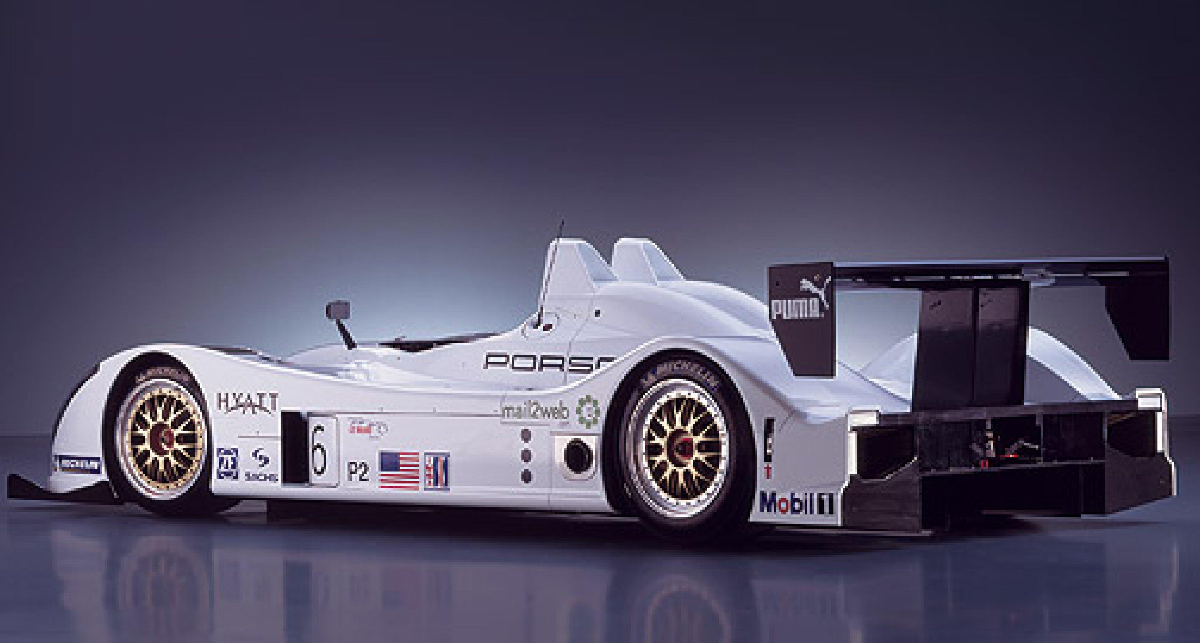 New Porsche Racing Prototype Hits the Track