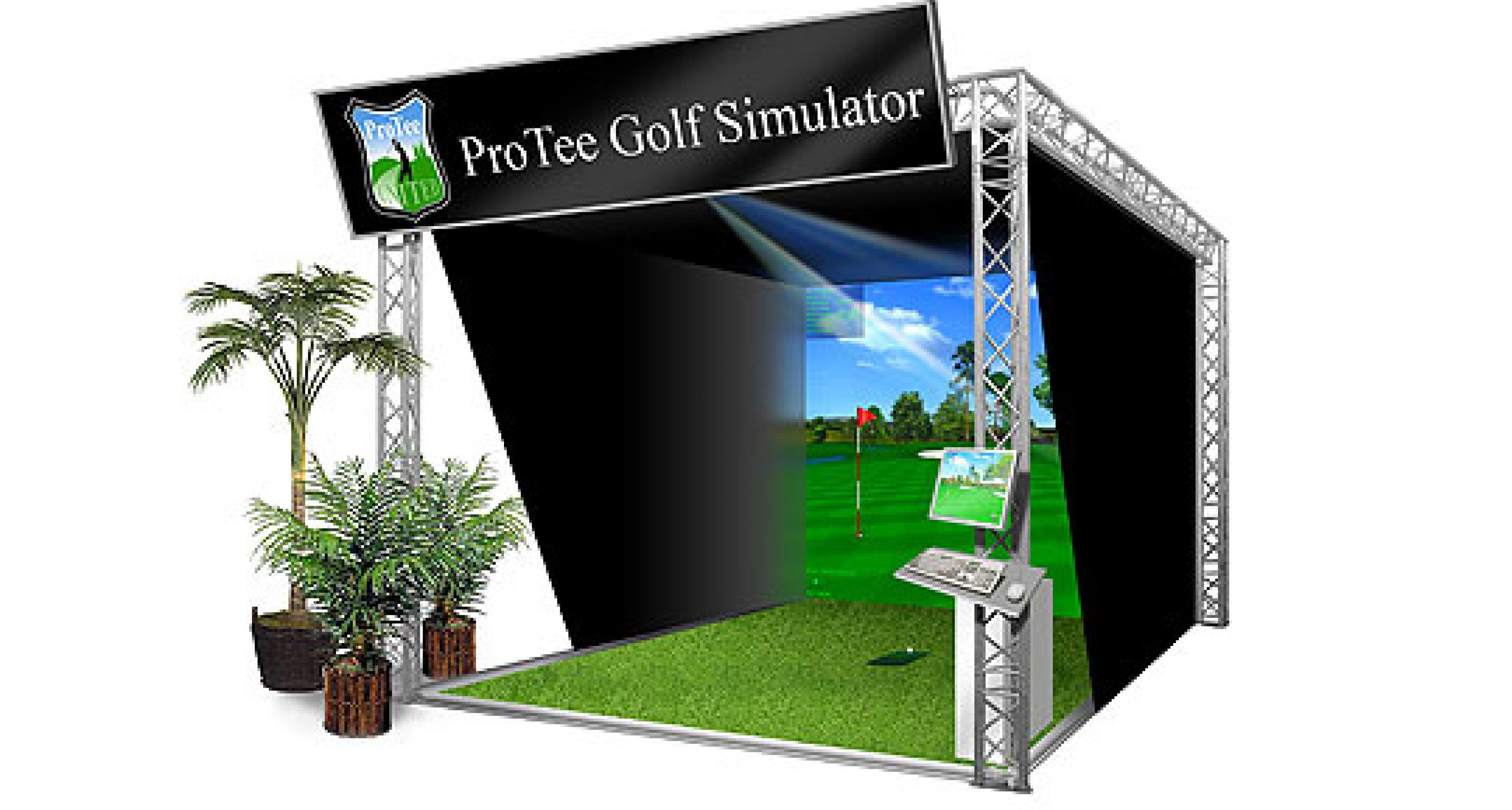 Pro Tee Golfsimulator: Home Golfing