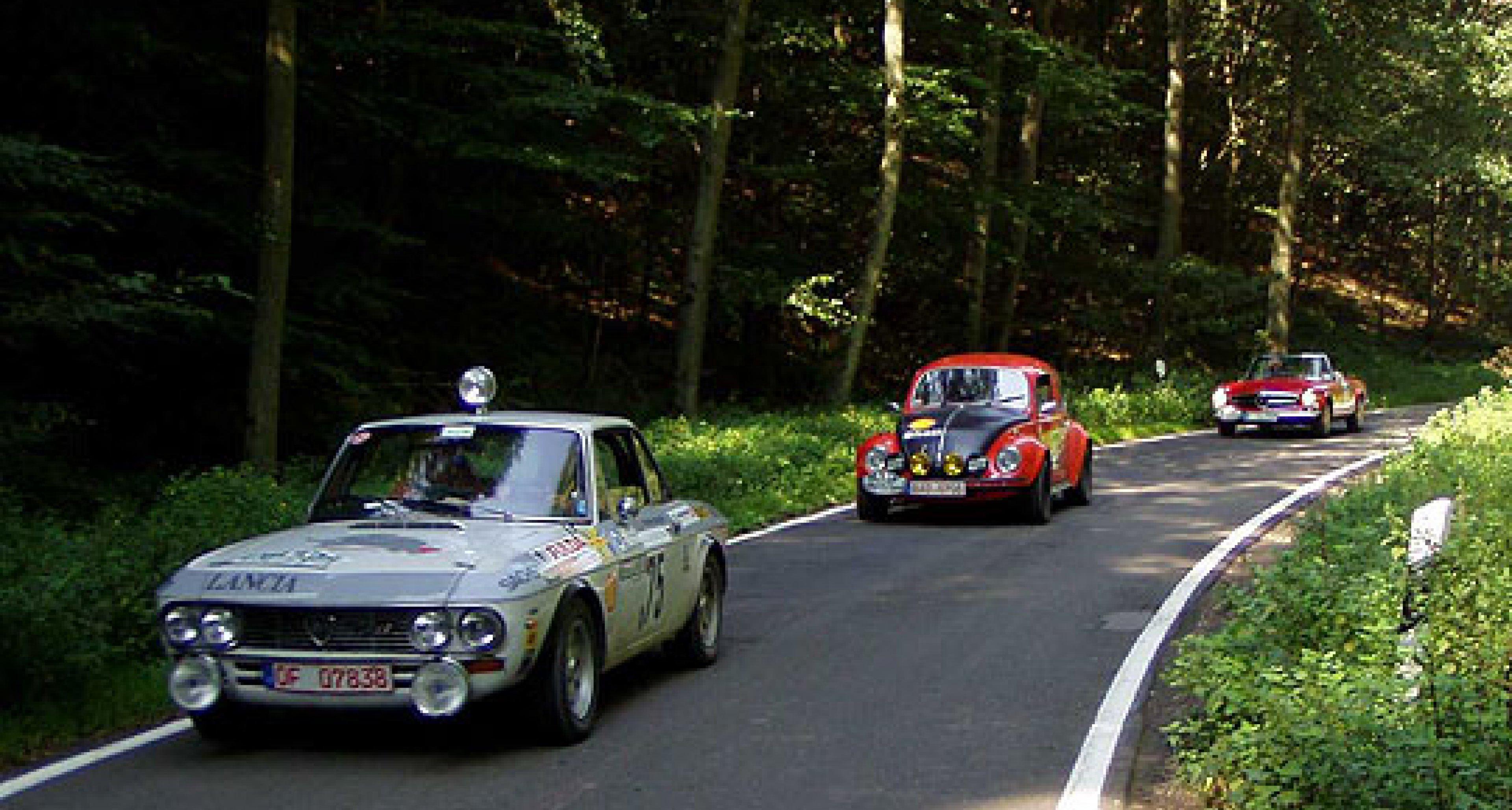 Den Rallyeboliden auf der Spur