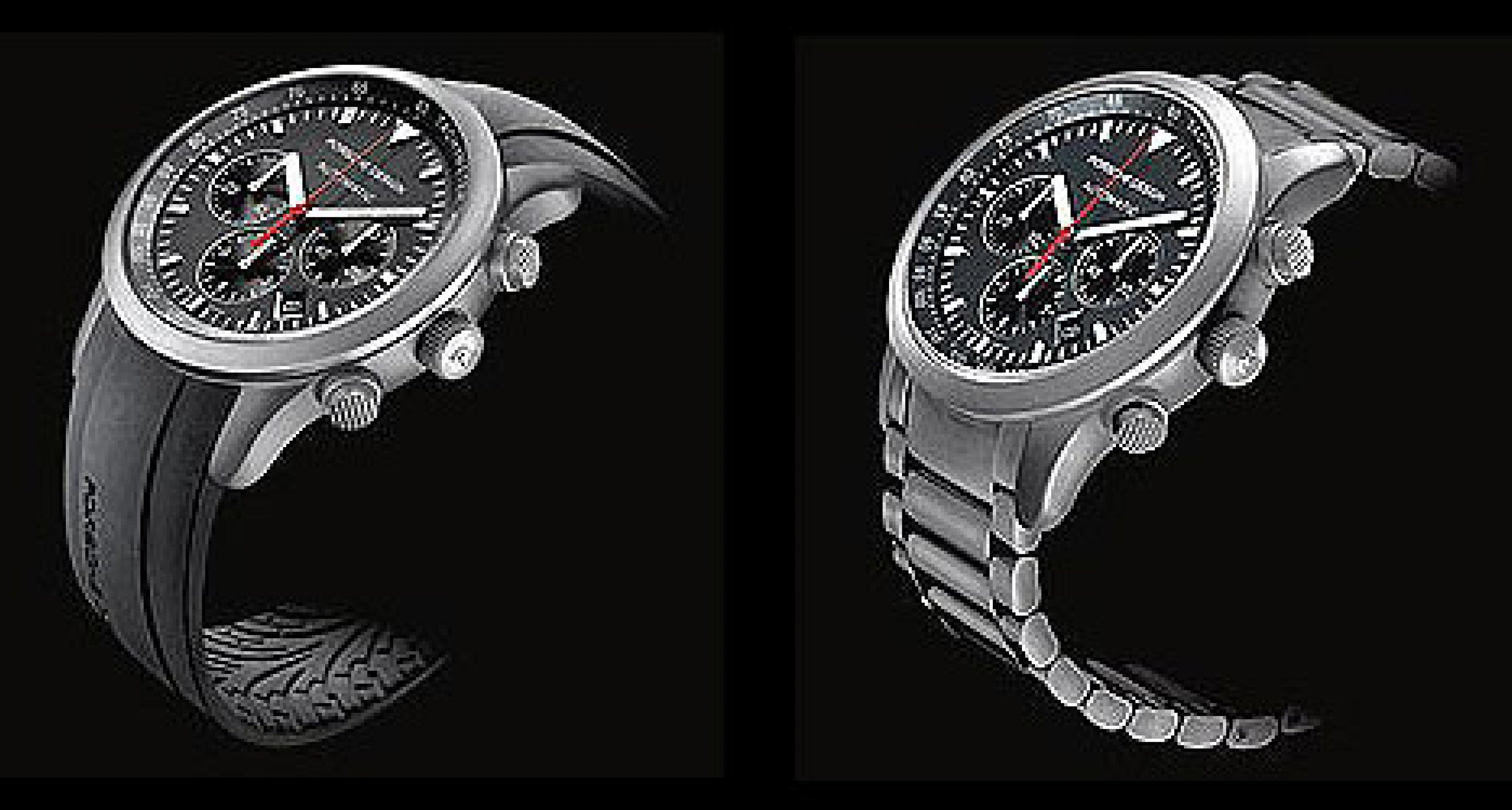 Porsche Design Timepieces: Dashboard Linie