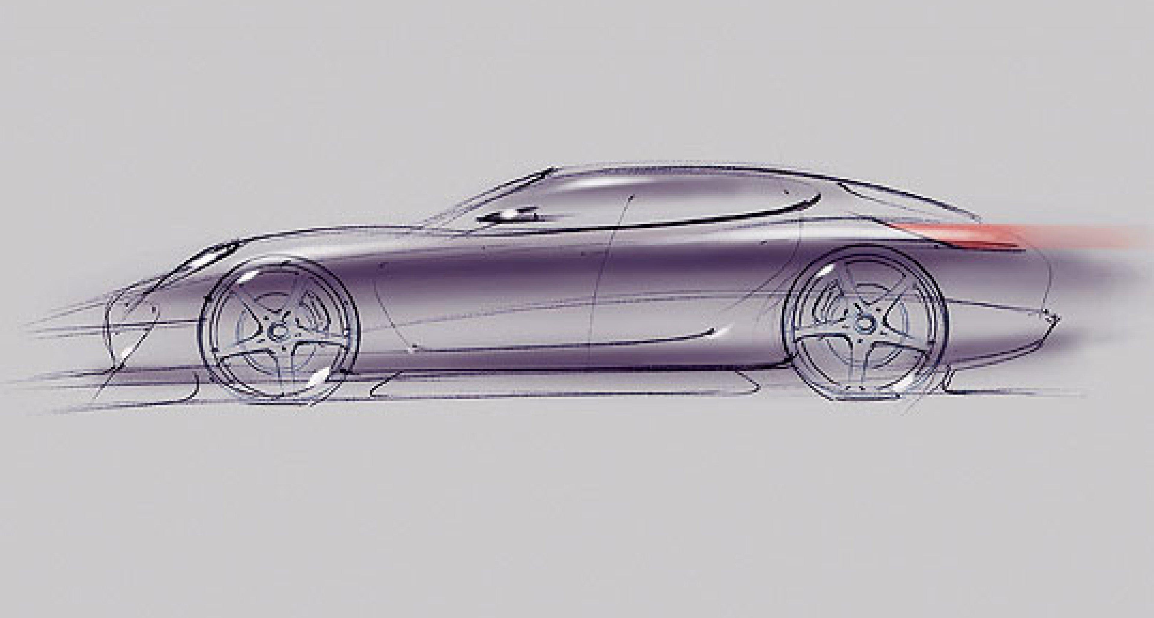 The Porsche Panamera Sports Coupé