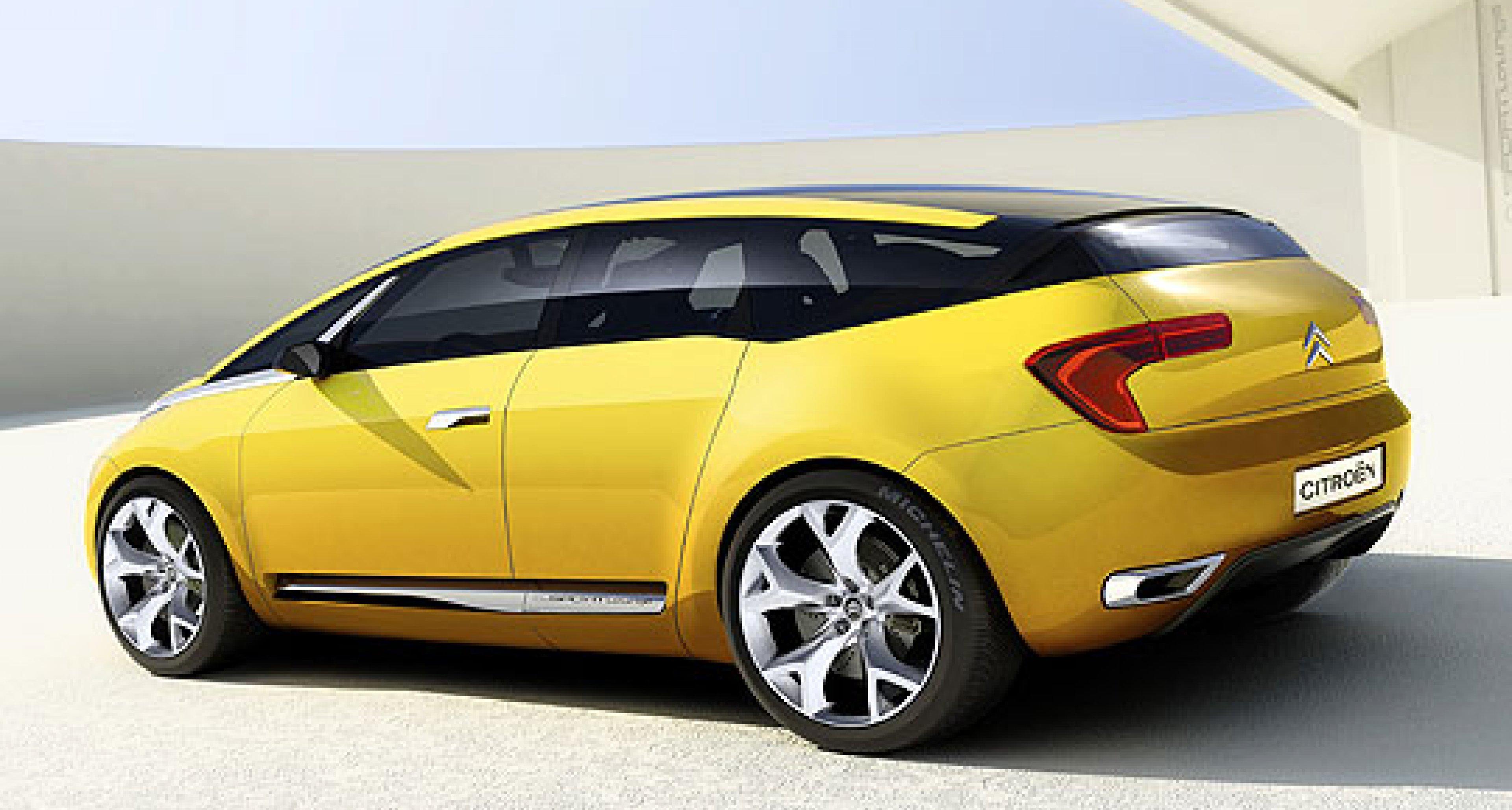 Citroën C-Sportlounge: Un air de Lamborghini...