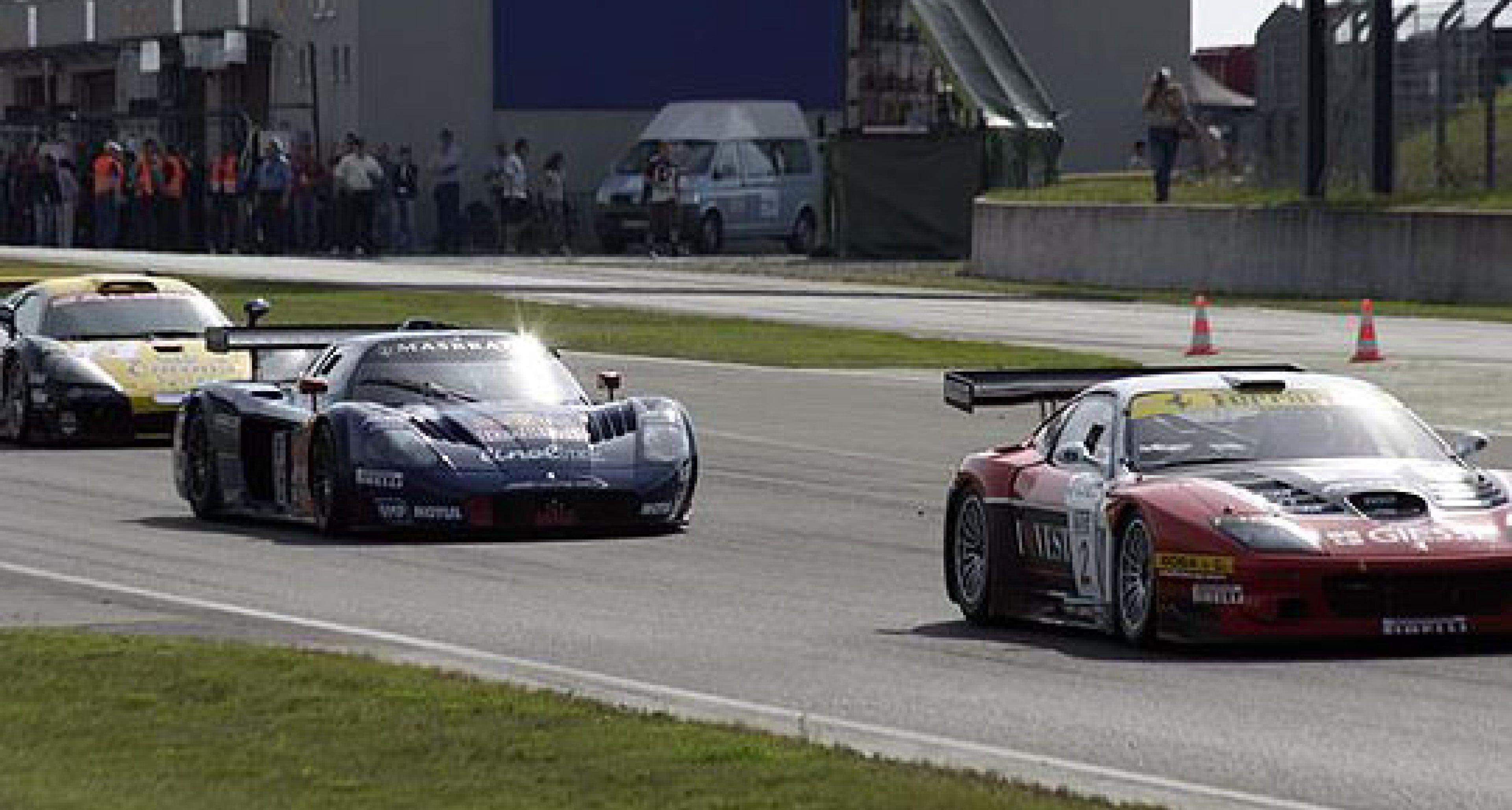 Maserati Sieg in Oschersleben