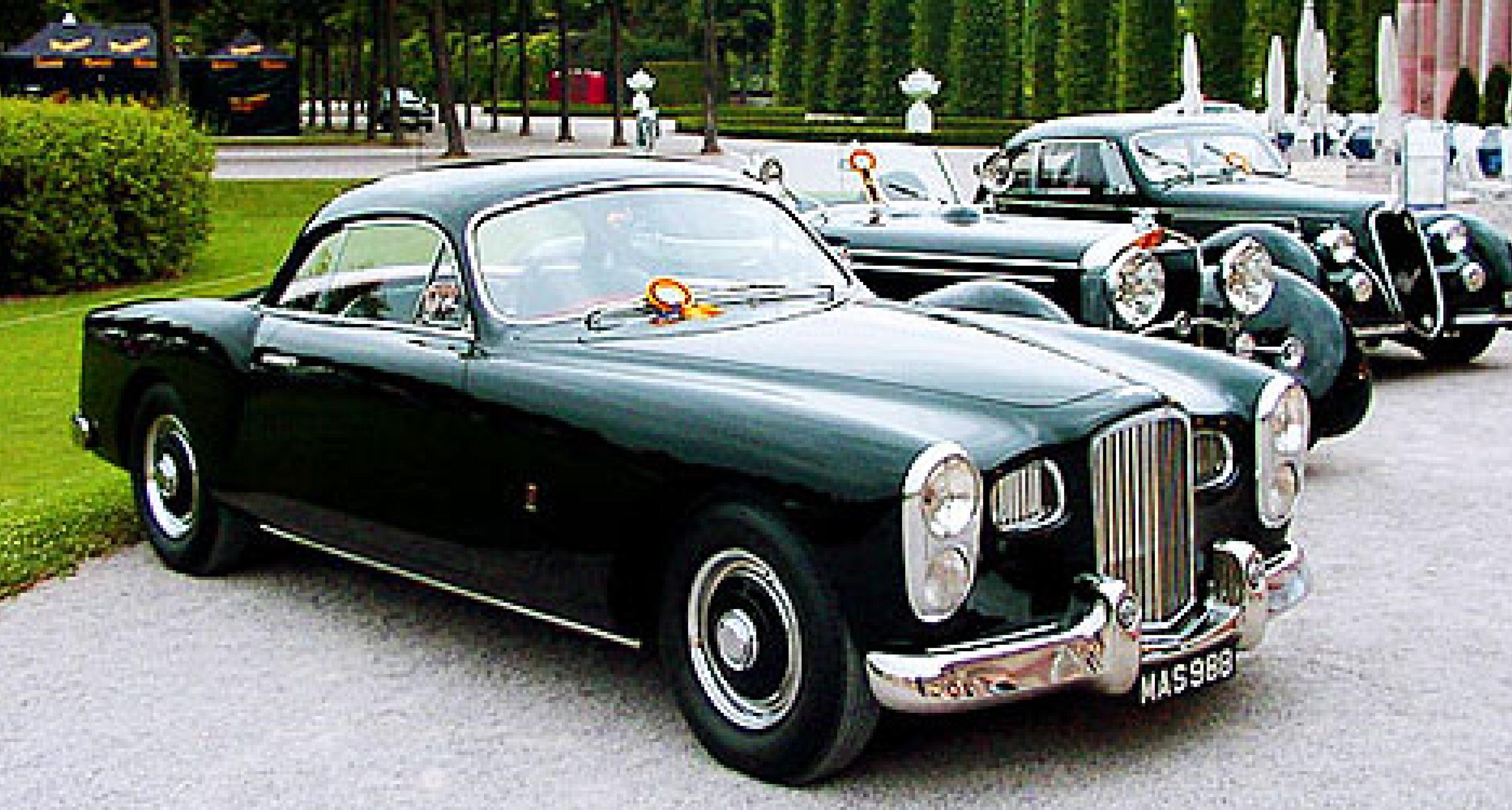 4. Internationaler Concours d'Elegance Oldtimer-Gala Schwetzingen