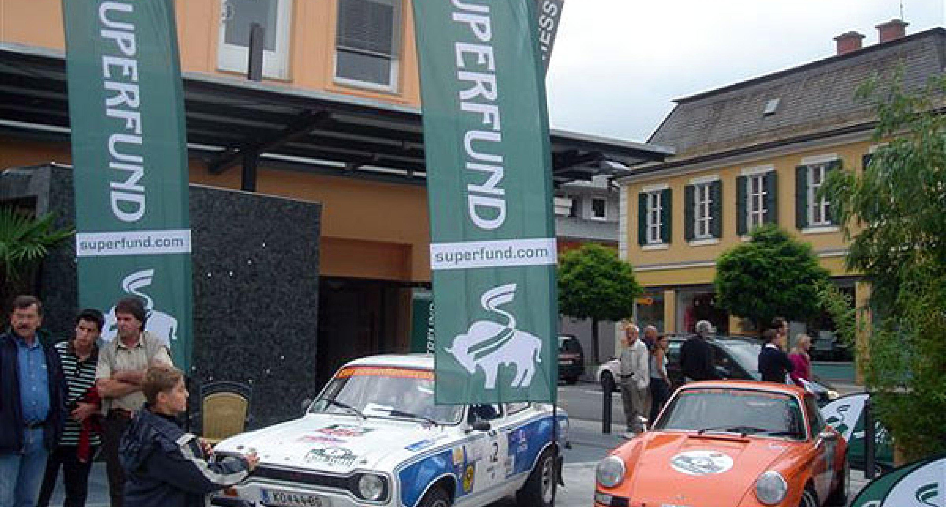 3. Superfund Oldtimer-Rallye Wien-Triest