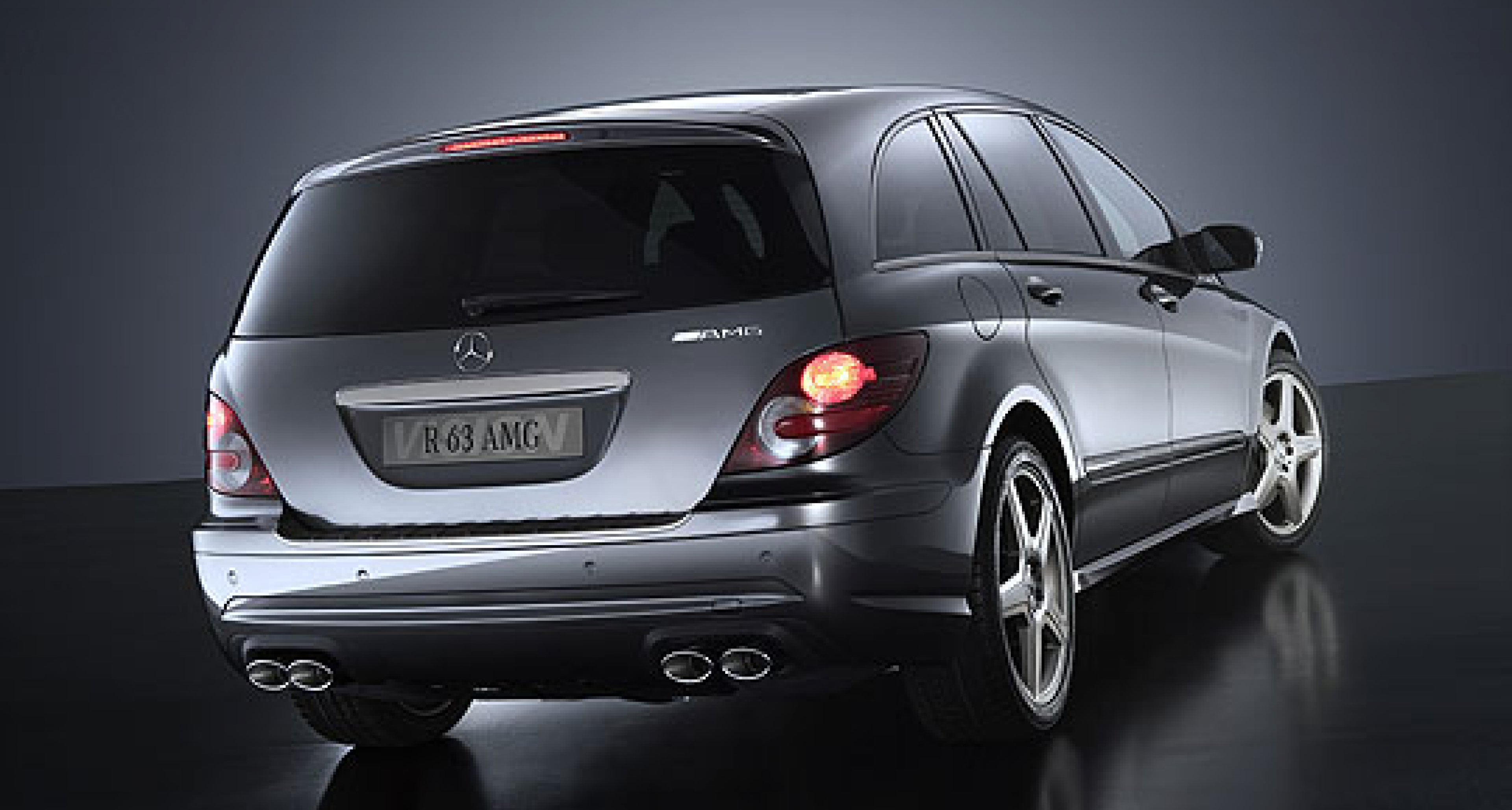 'Vision R 63 AMG': World premiere at the 61st Frankfurt Motor Show