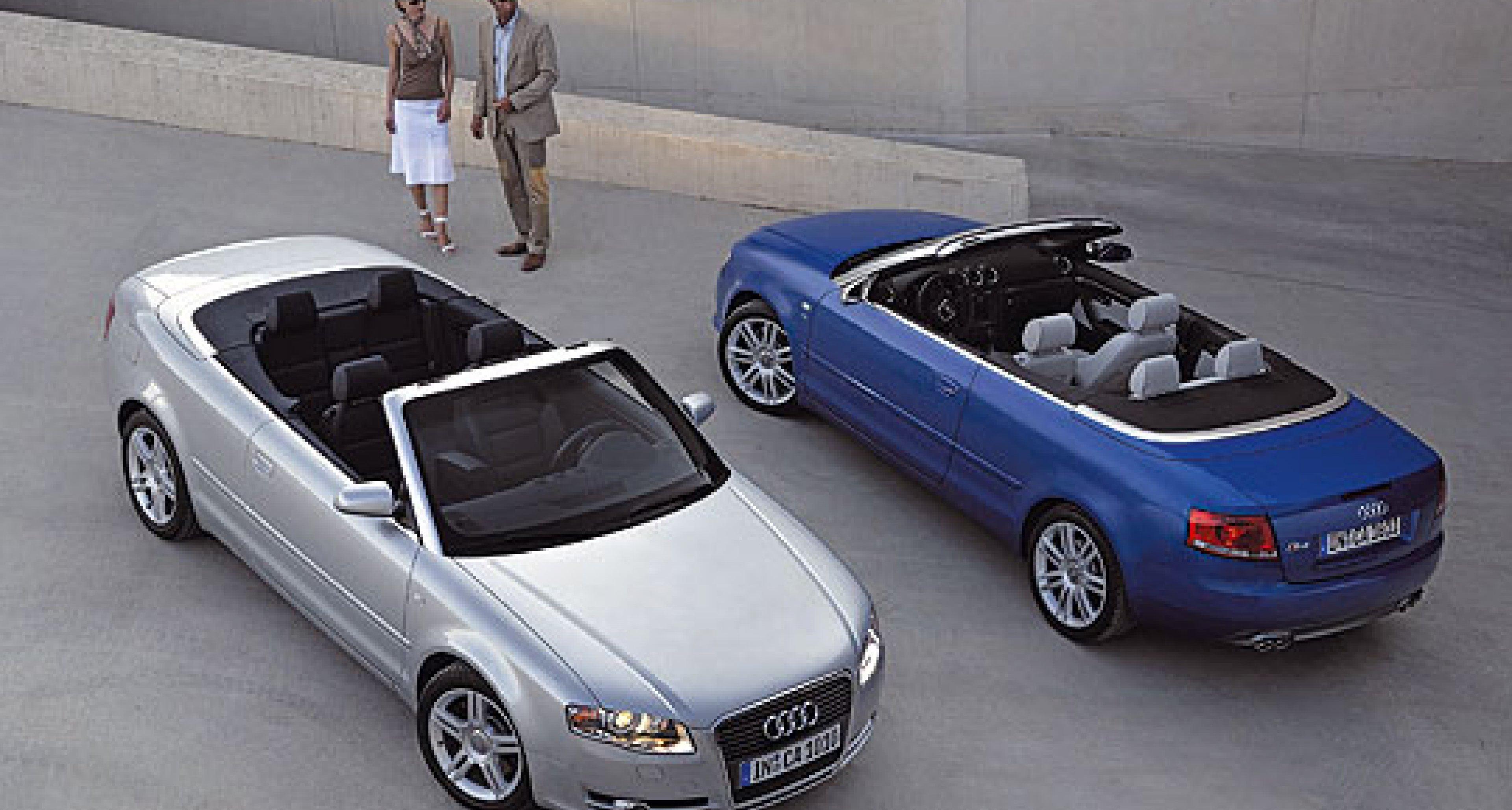 Audi A4 Cabrio: Neuer Look