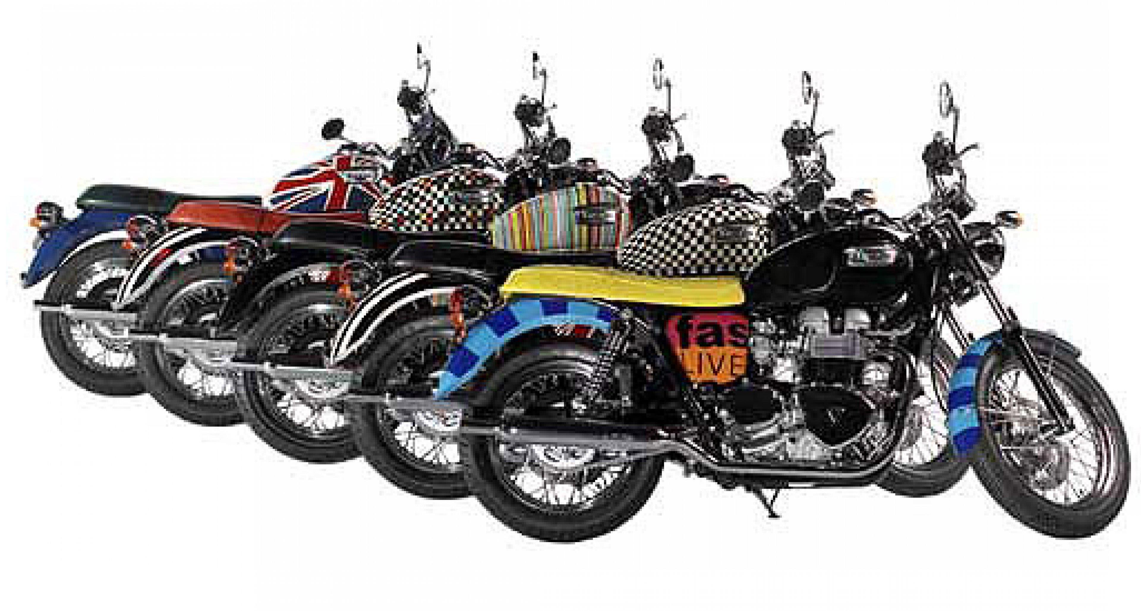 Triumph Bonneville T100 by Paul Smith: Truly British