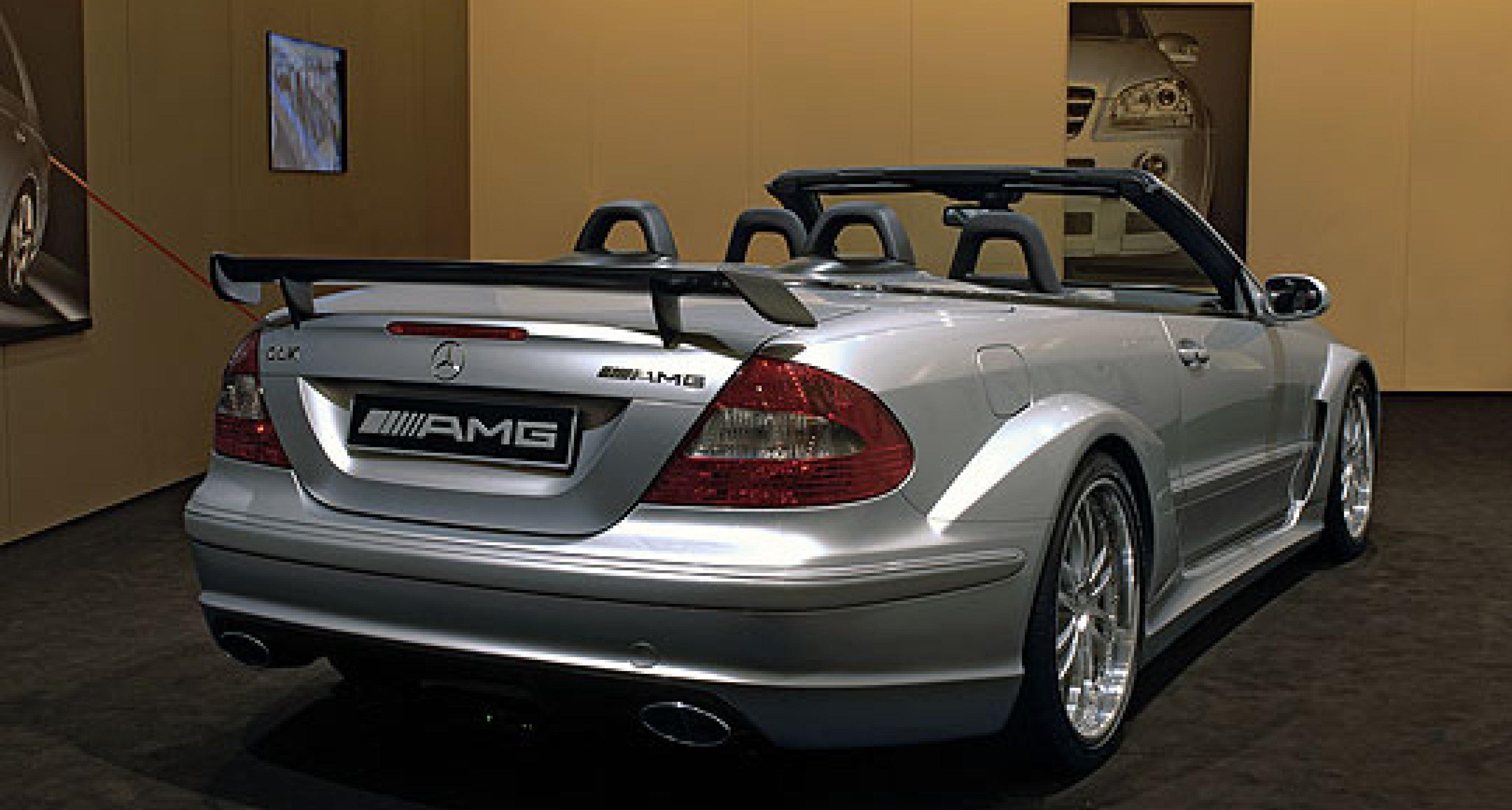 Mercedes-Benz CLK DTM AMG Cabrio: 300 km/h hoch vier
