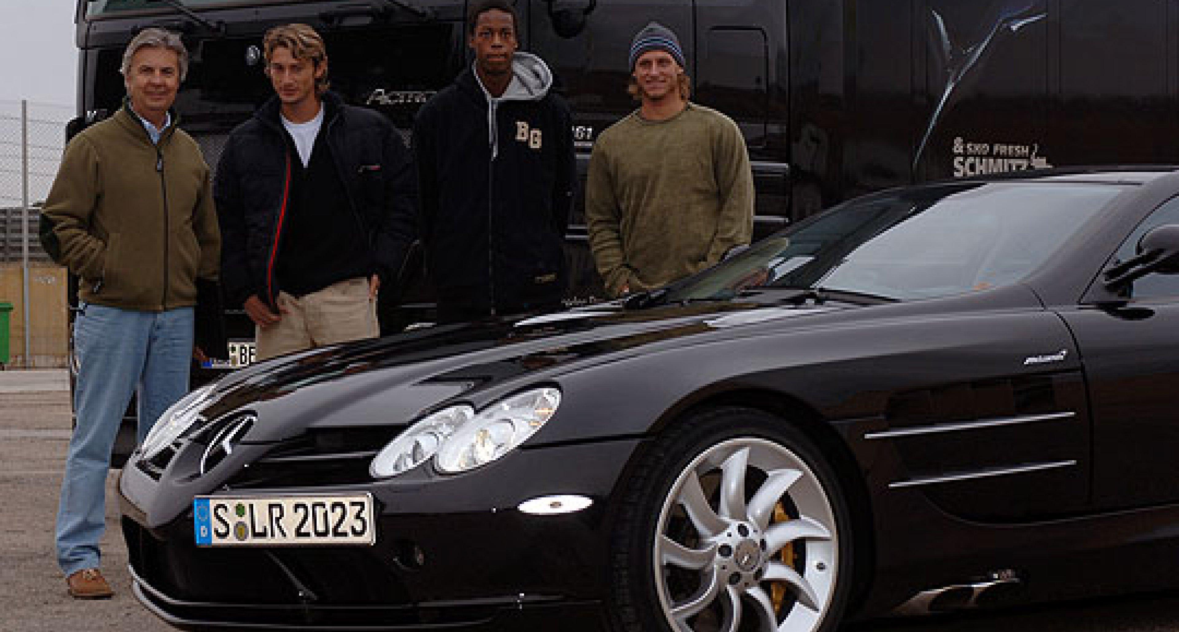 Mercedes-Benz: Spiel, Satz, SLR McLaren