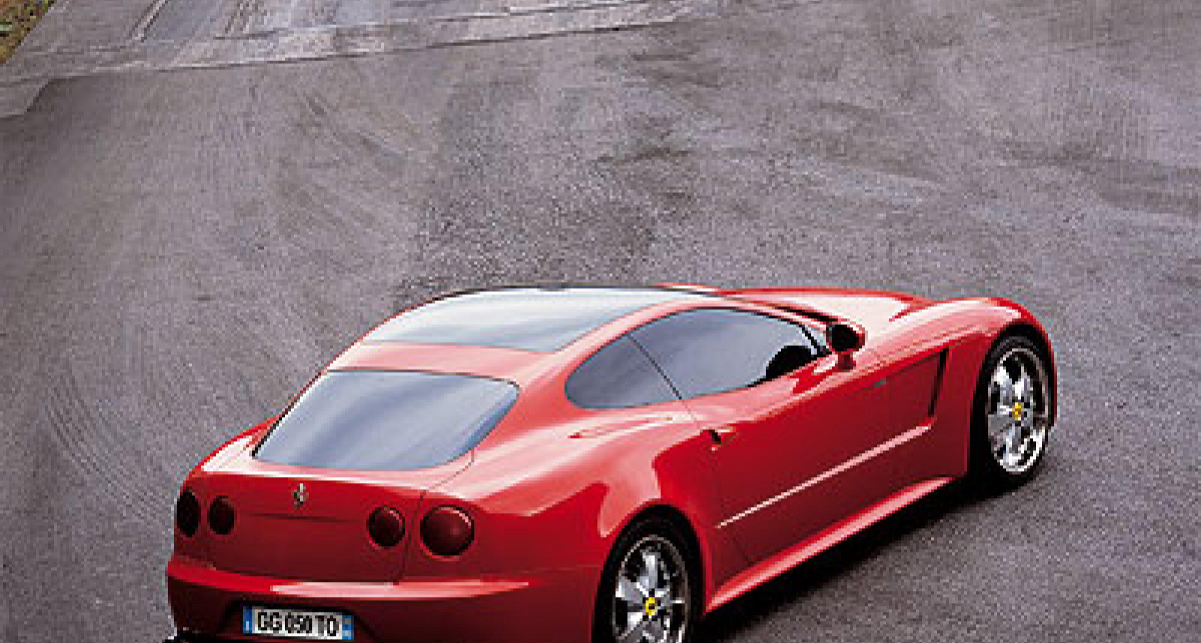 Ferrari GG50 by Giorgetto Giugiaro