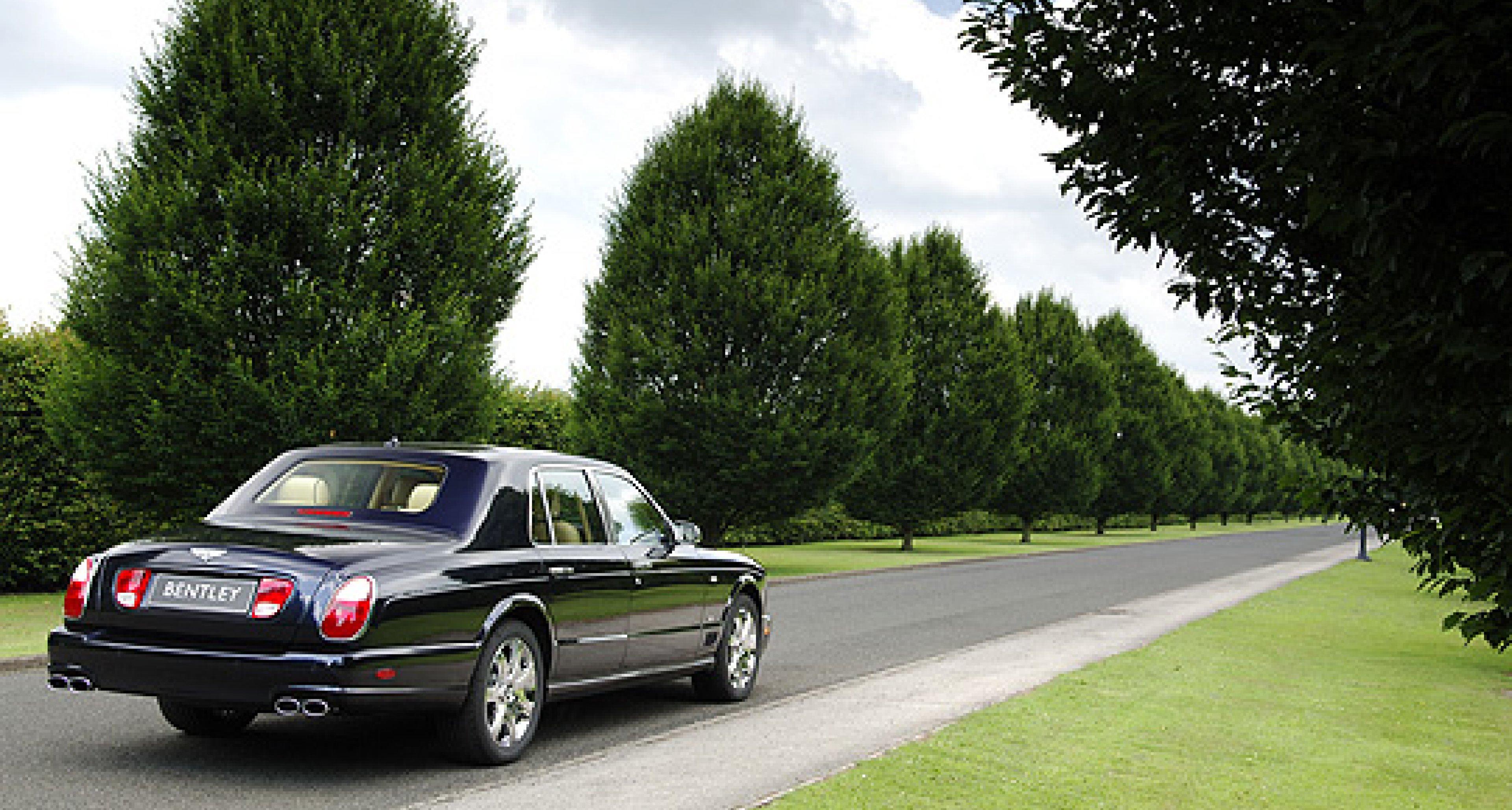 Bentley Arnage Blue Train: Sondermodell