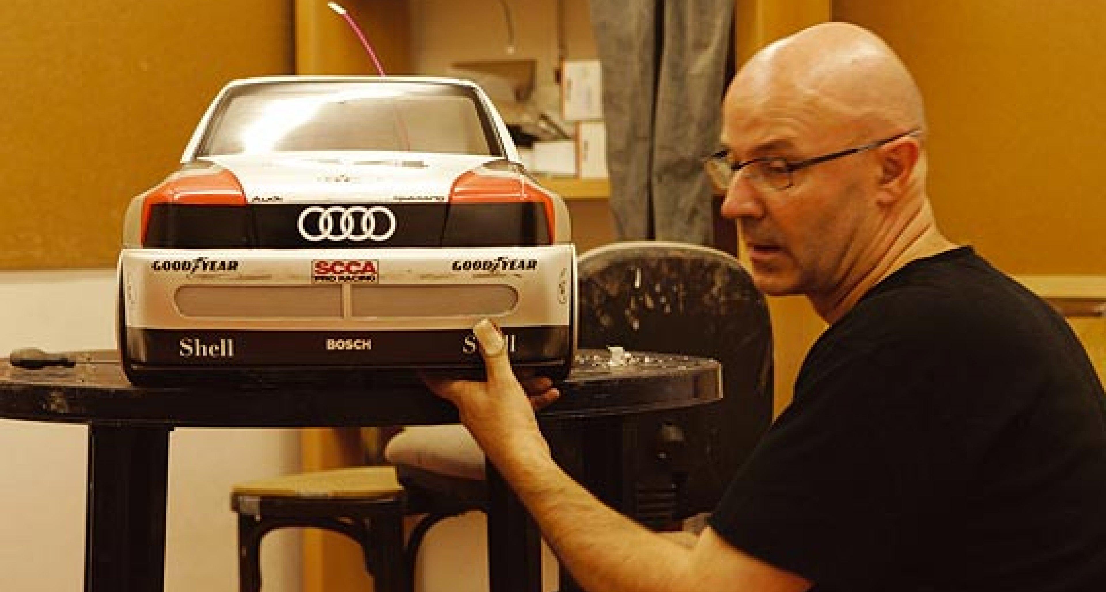 Audi Schanzenwerbung: Ultimativ Quattro