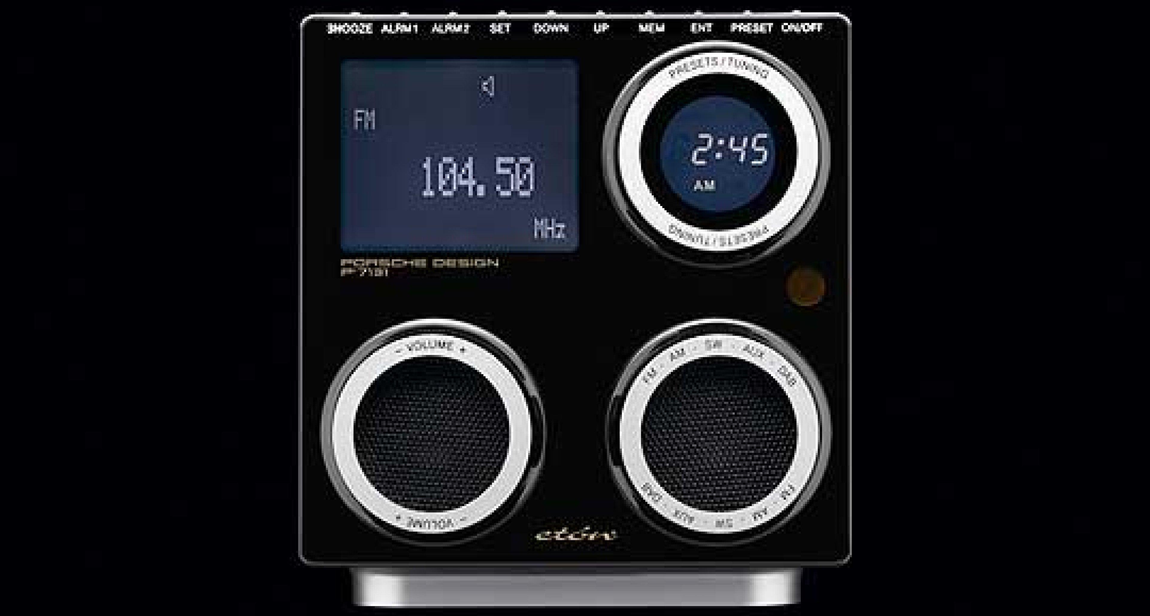 Porsche Design P'7131: Das Porsche Radio