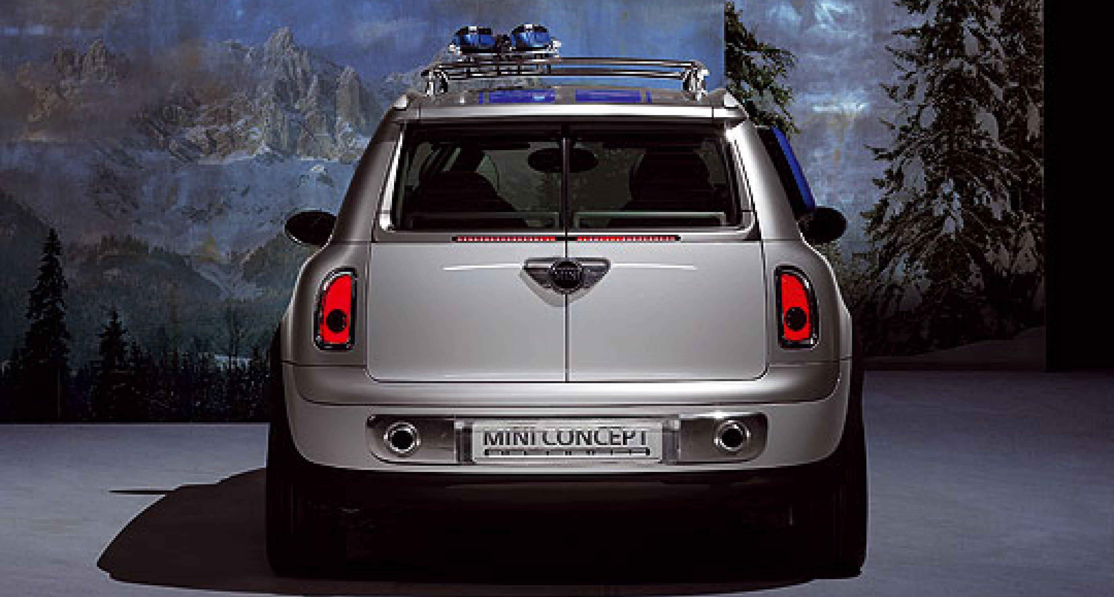 Mini Concept Detroit: Mini goes sporty