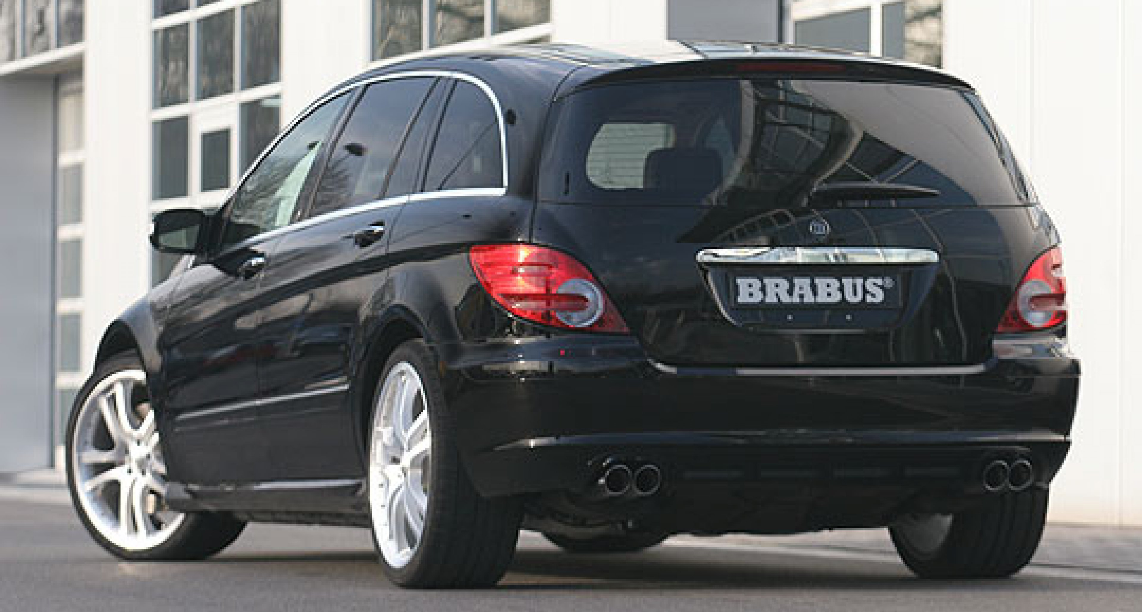 Brabus R-Klasse – Kraftraum
